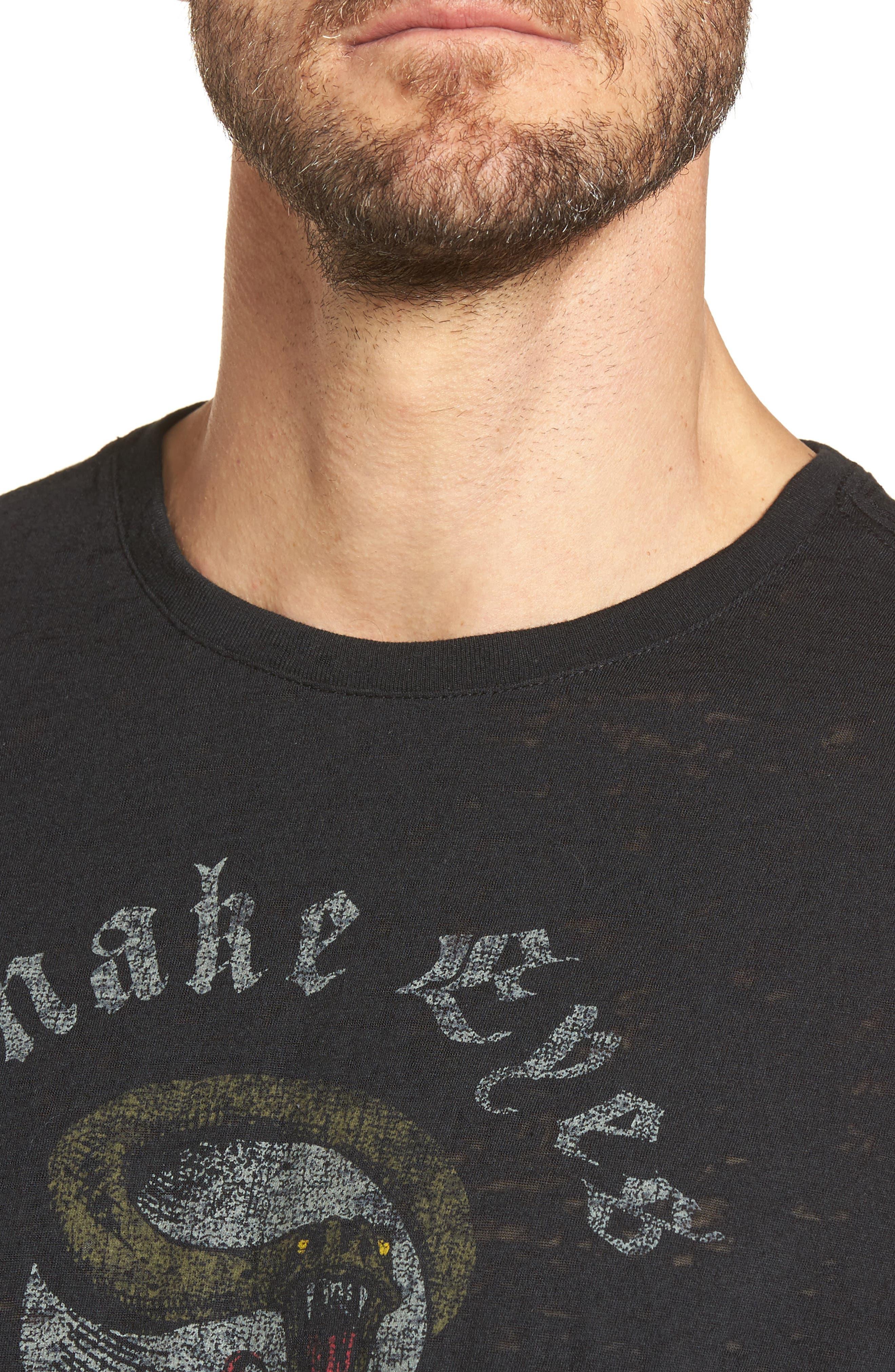 Snake Eyes Graphic T-Shirt,                             Alternate thumbnail 4, color,                             001