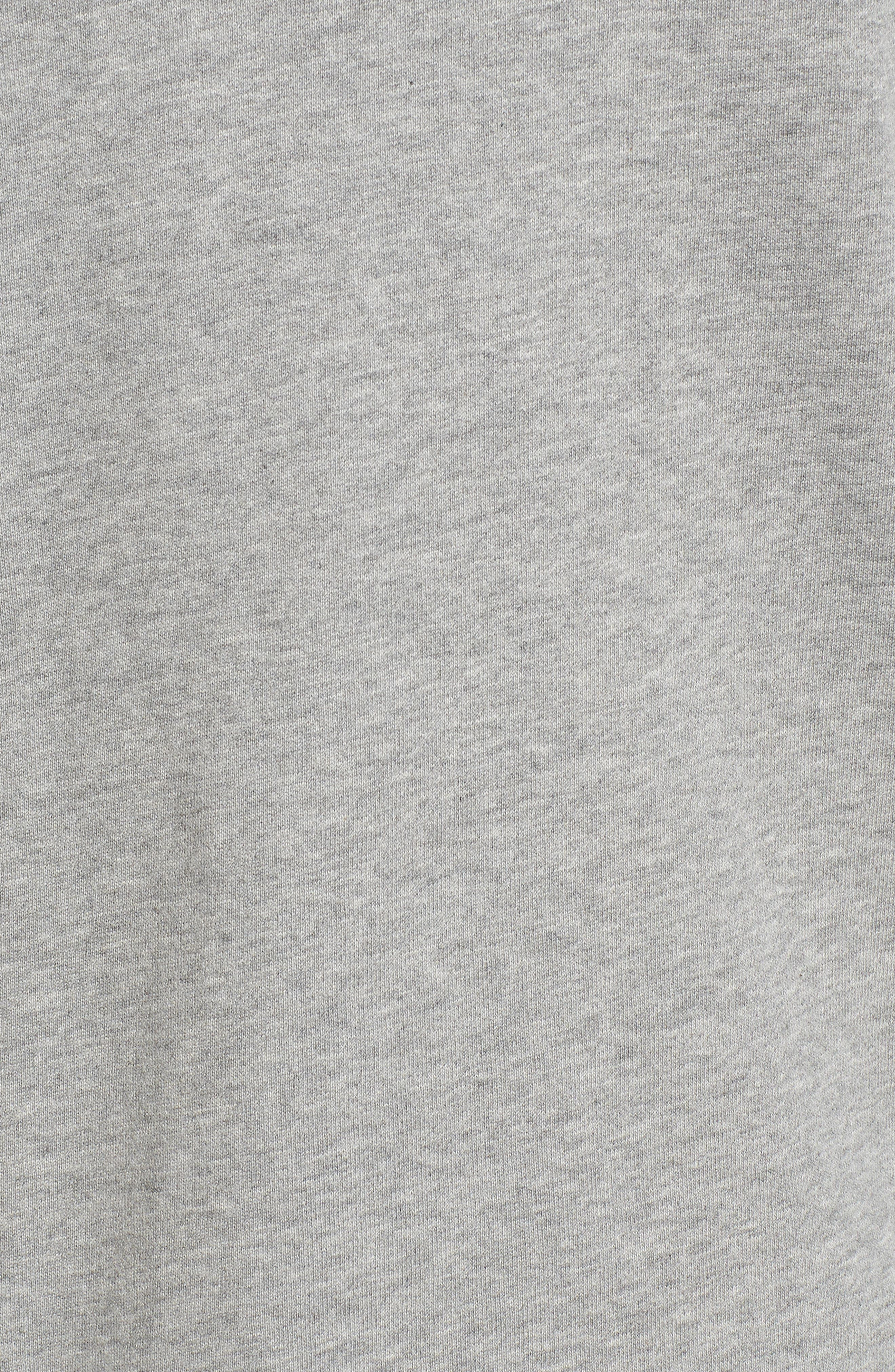 Stacked Rubber Hoodie Sweatshirt,                             Alternate thumbnail 5, color,