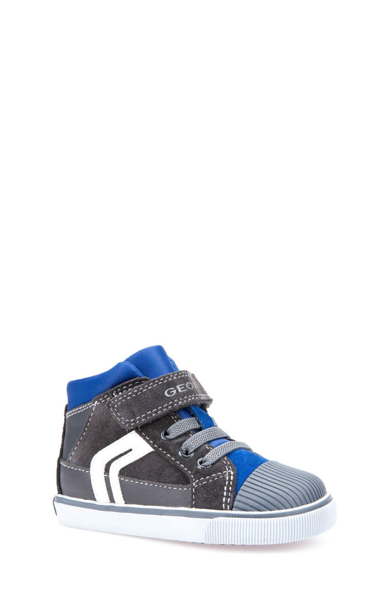 Kiwi Boy High Top Sneaker,                             Main thumbnail 1, color,                             073