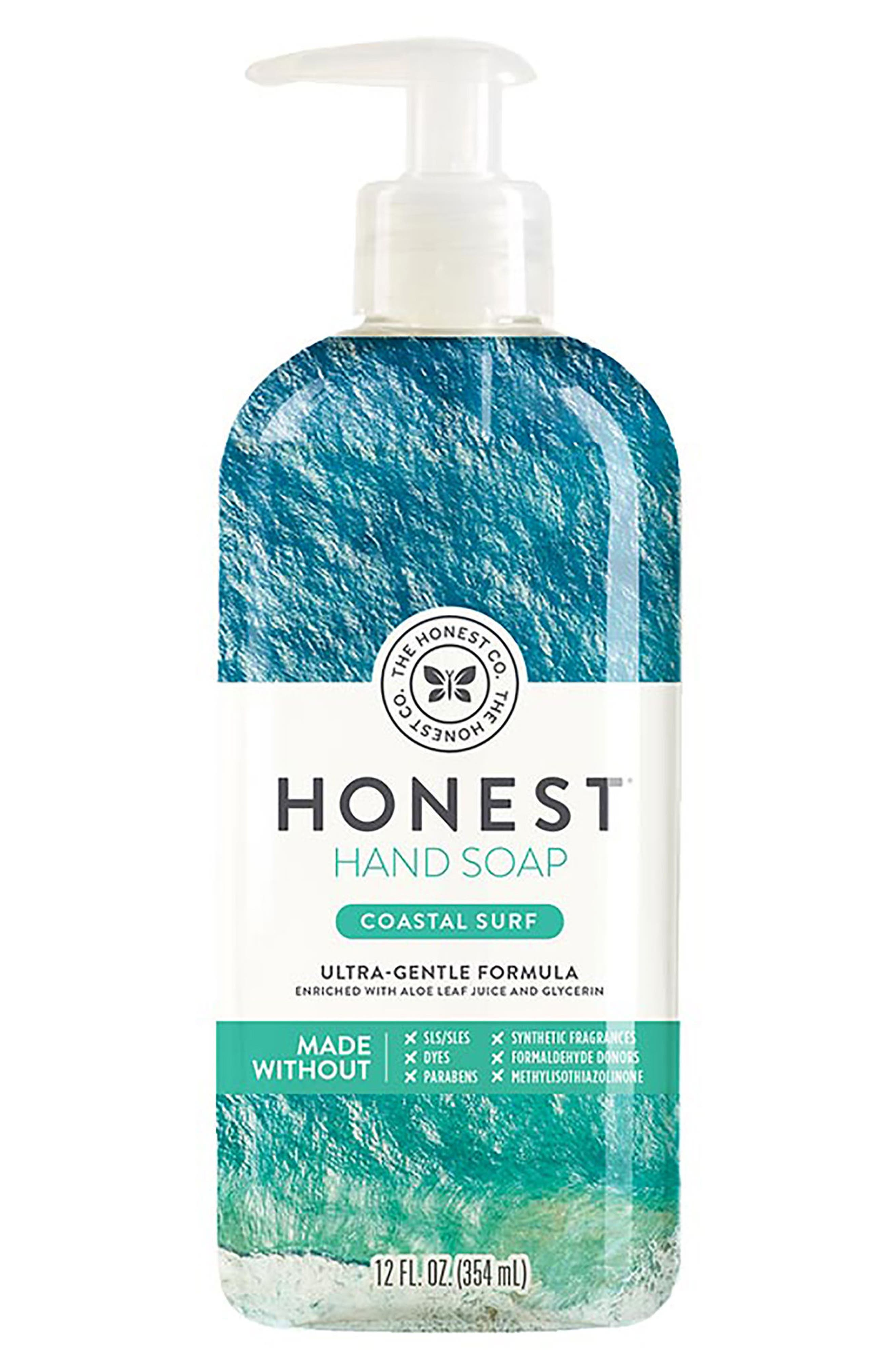Coastal Surf Hand Soap,                             Main thumbnail 1, color,                             COASTAL SURF