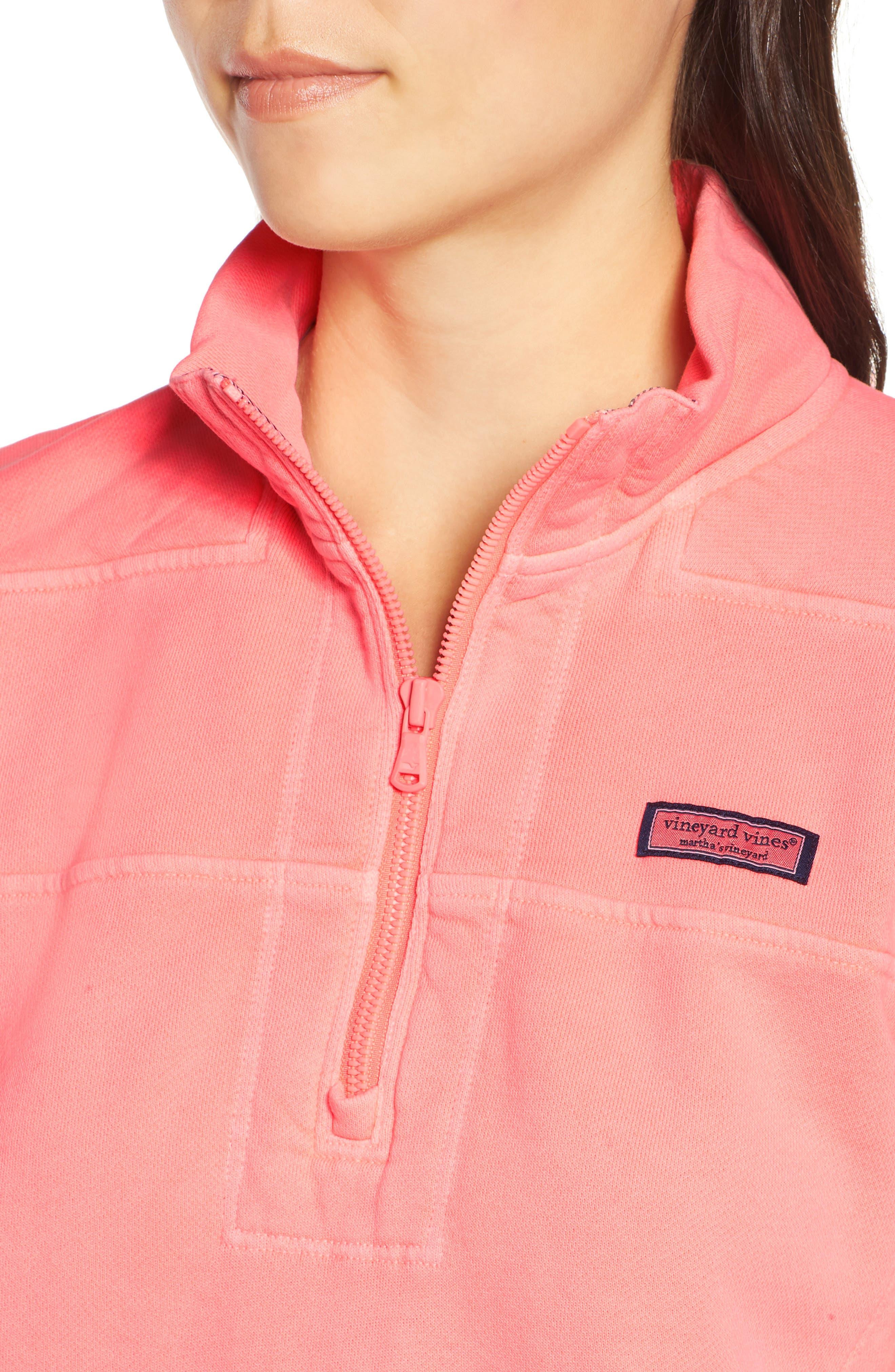 VINEYARD VINES,                             Garment Dyed Classic Shep Pullover,                             Alternate thumbnail 4, color,                             655