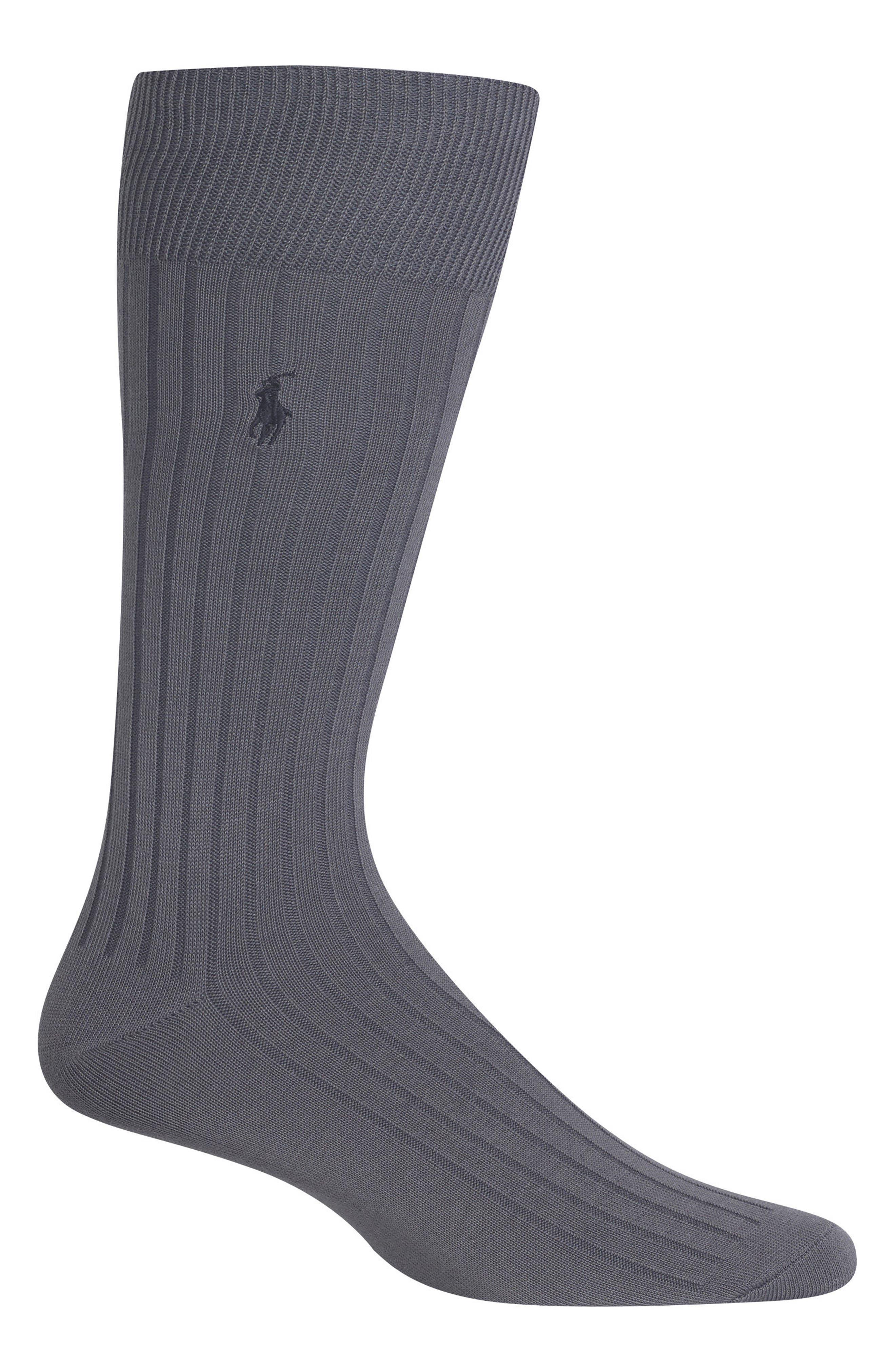 Ribbed Socks,                             Main thumbnail 2, color,