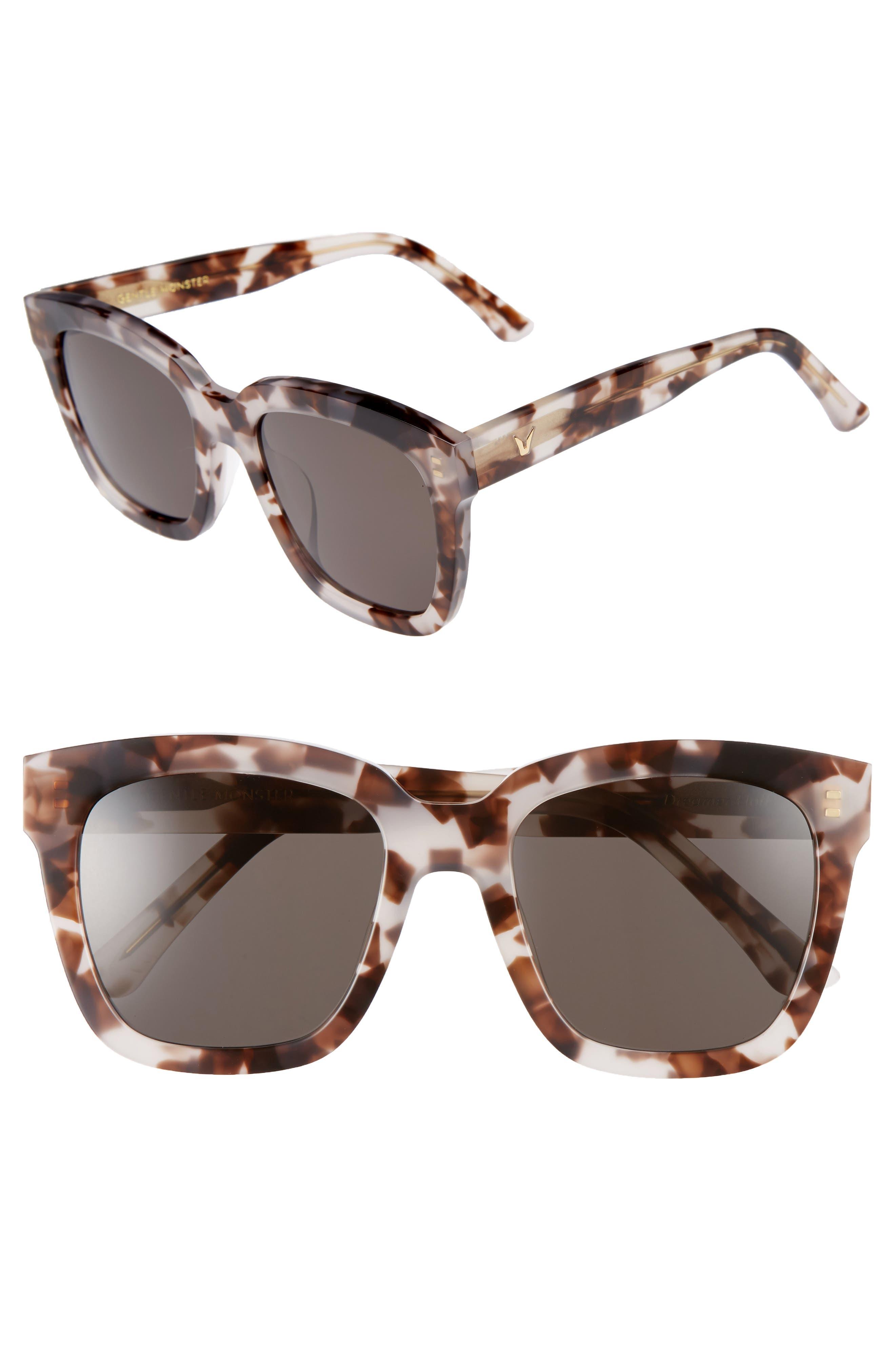 Dreamer Hoff 54mm Sunglasses,                             Main thumbnail 2, color,
