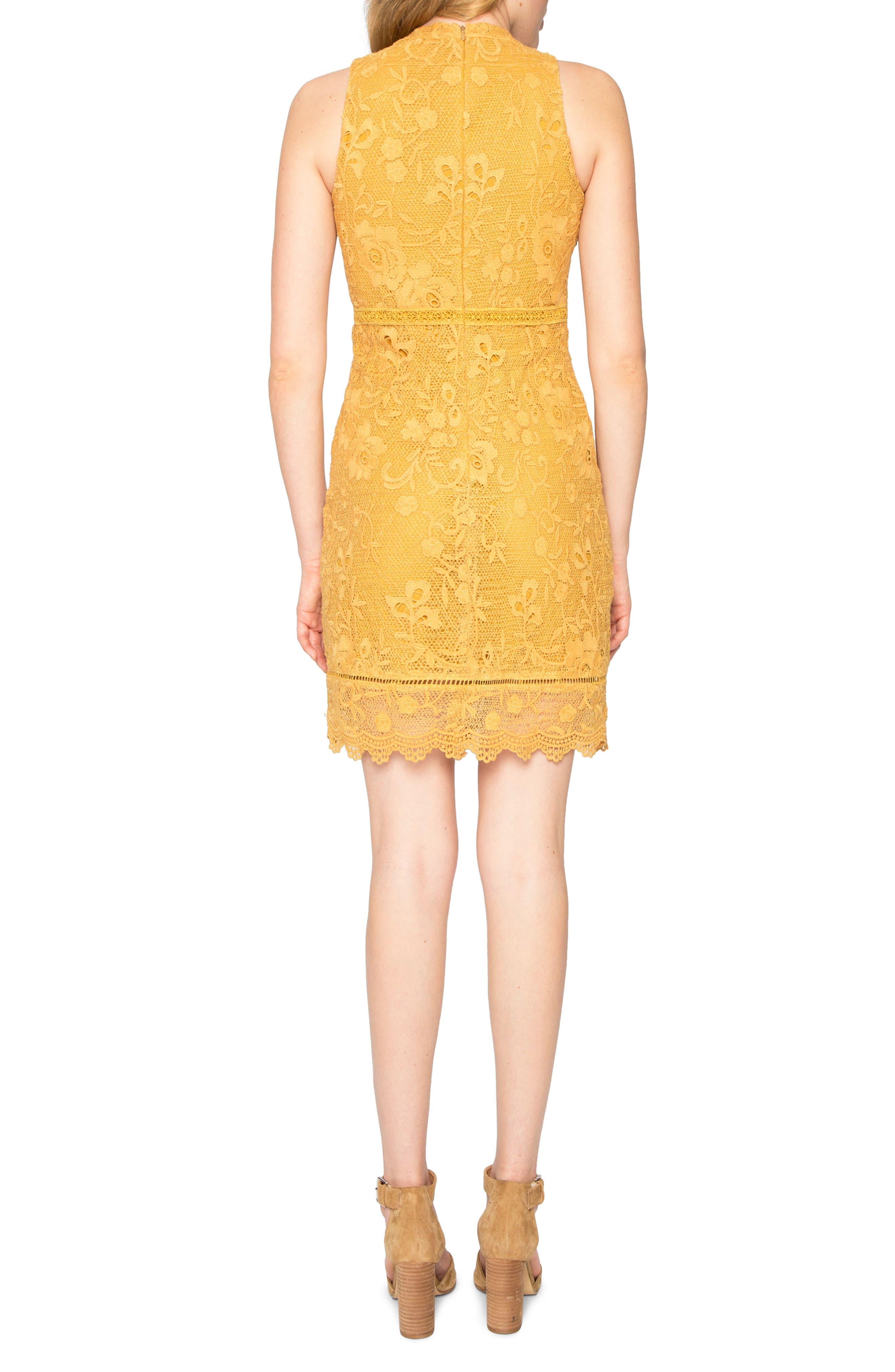 Lace Sheath Dress,                             Alternate thumbnail 2, color,                             780