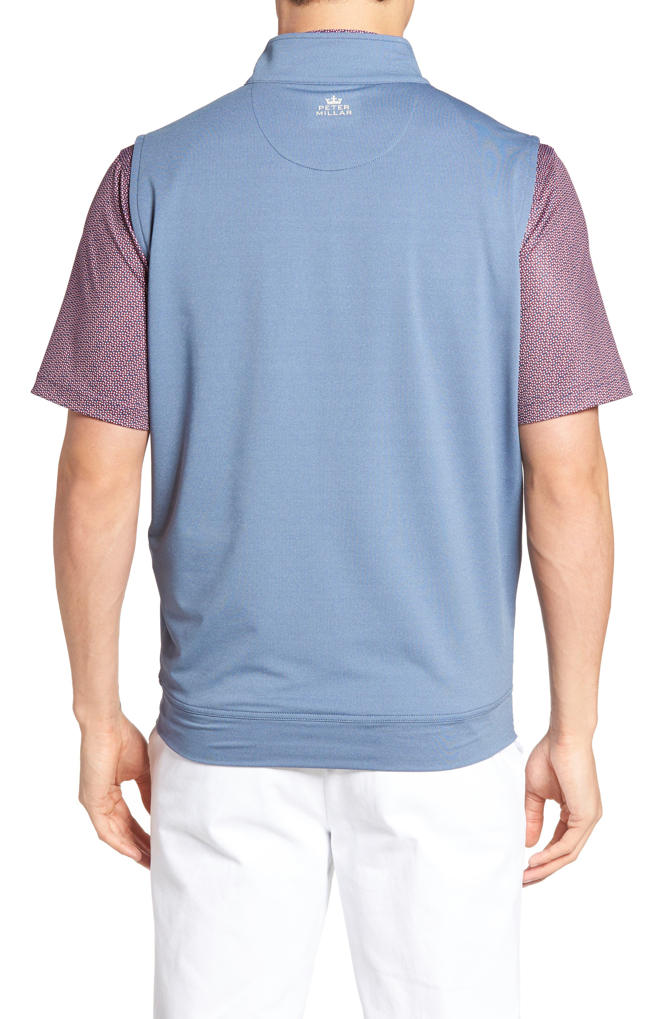 Galway Quarter Zip Vest,                             Alternate thumbnail 2, color,                             402