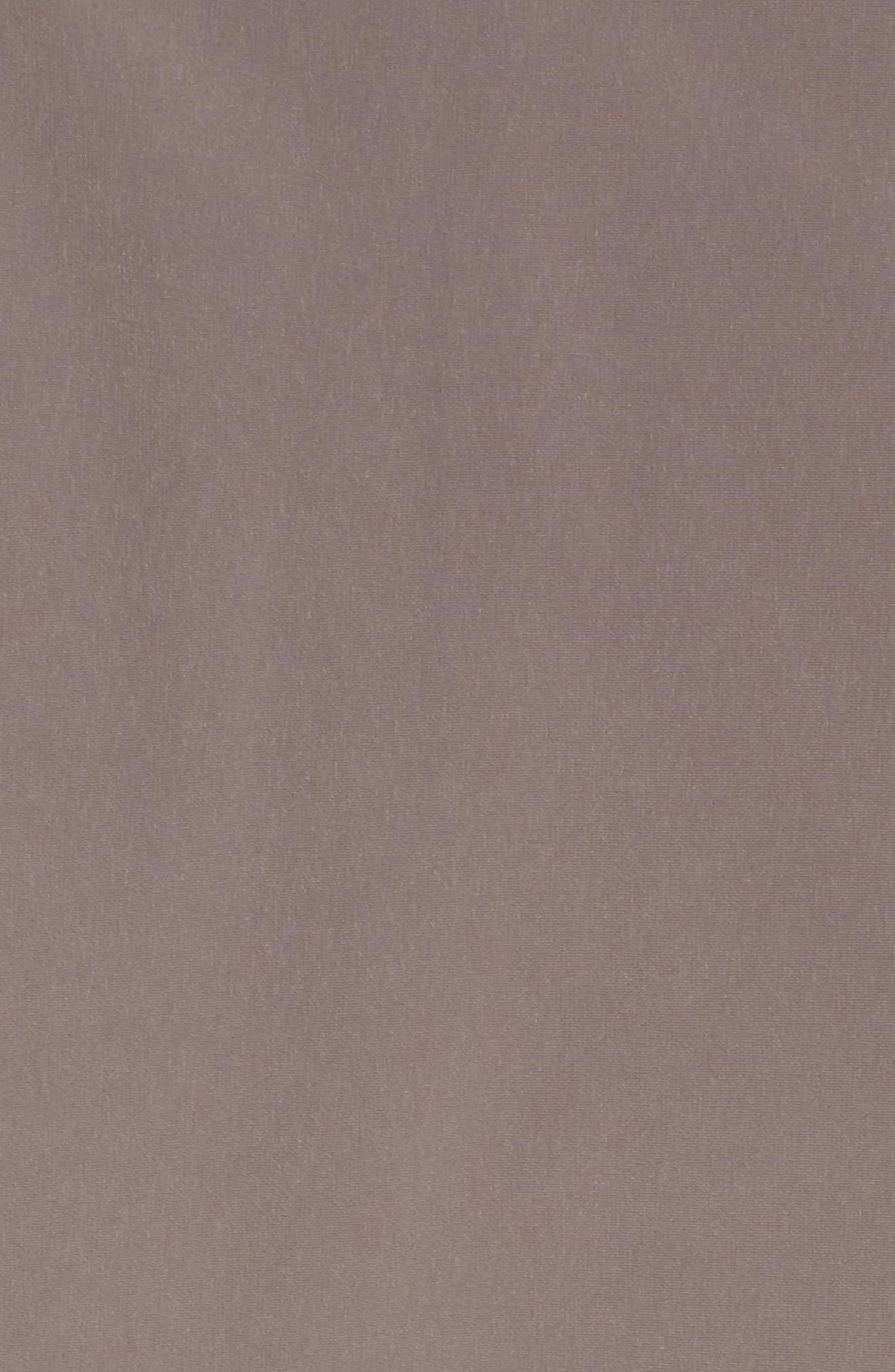 Two-Tone Long Silk Look Raincoat,                             Alternate thumbnail 12, color,