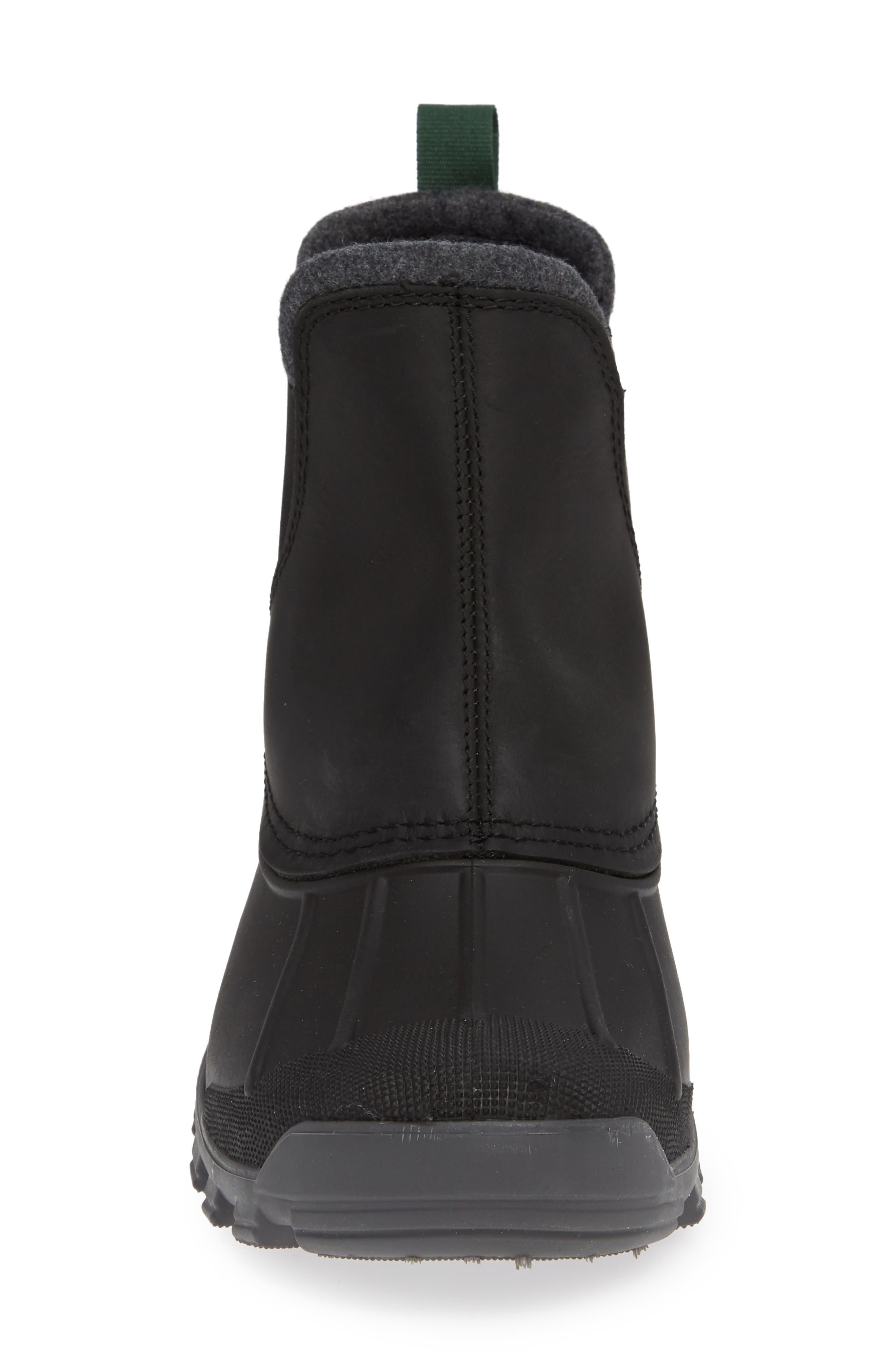 Hudson C Waterproof Winter Boot,                             Alternate thumbnail 4, color,                             001