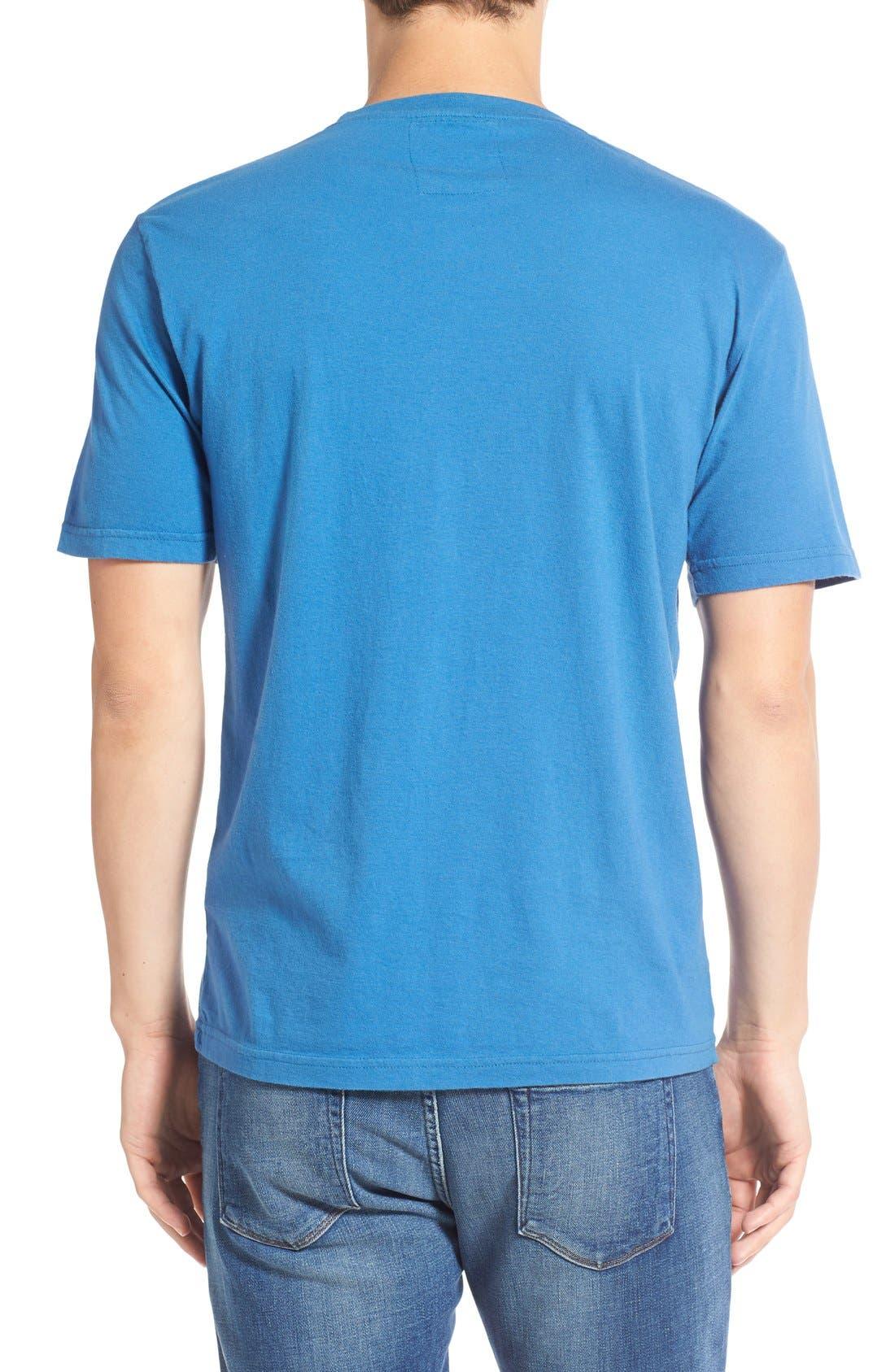 'Chicago Cubs - Brass Tacks' Trim Fit T-Shirt,                             Alternate thumbnail 2, color,                             450