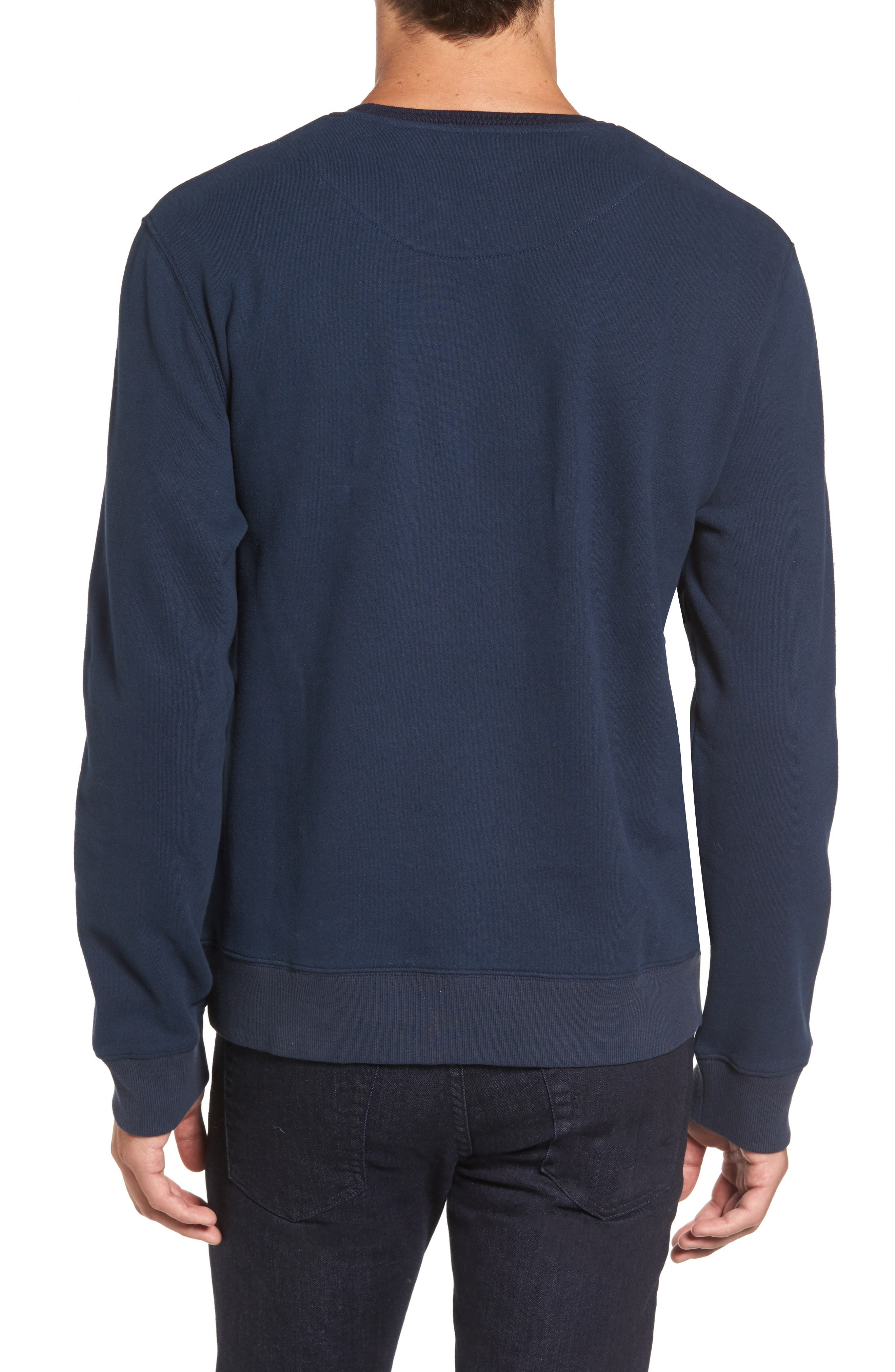 Auckland Logo Embroidered Sweatshirt,                             Alternate thumbnail 6, color,