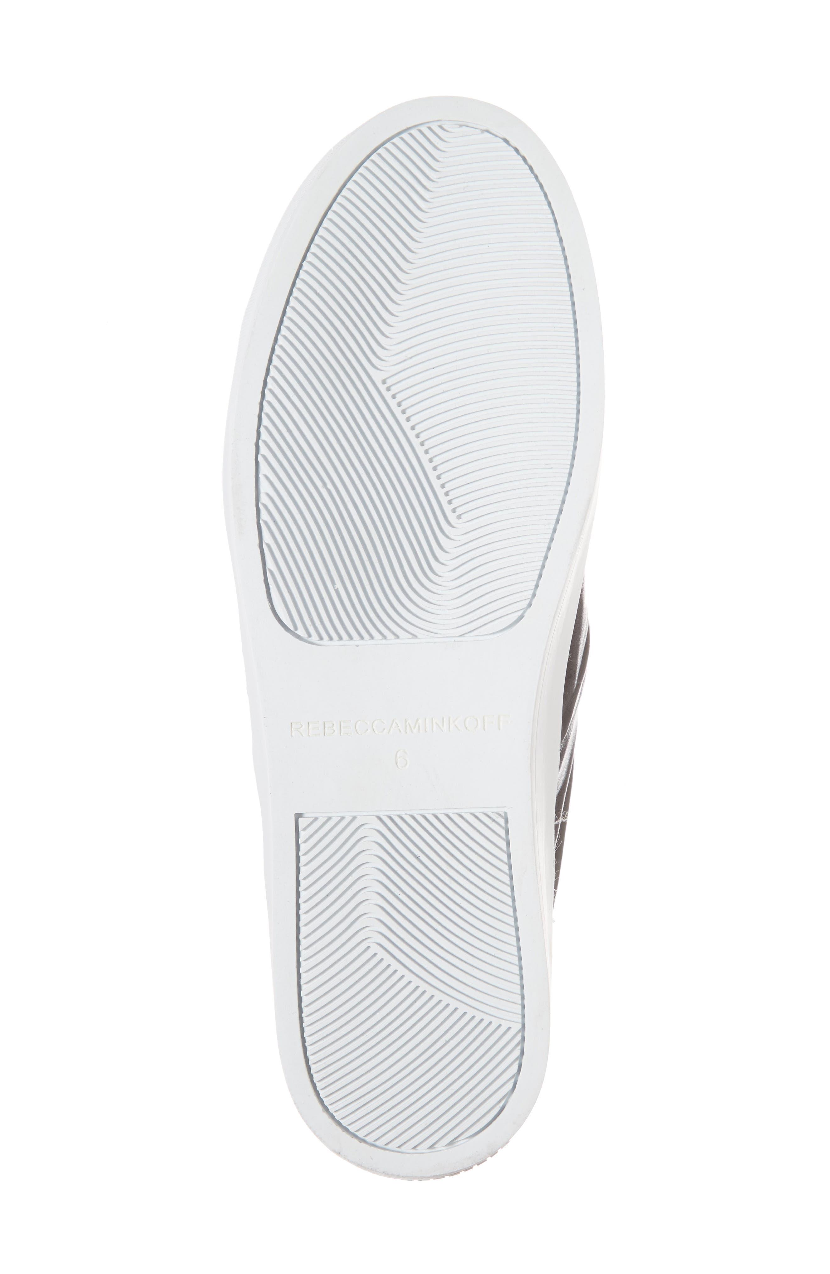 Nicole Platform Sneaker,                             Alternate thumbnail 6, color,                             001