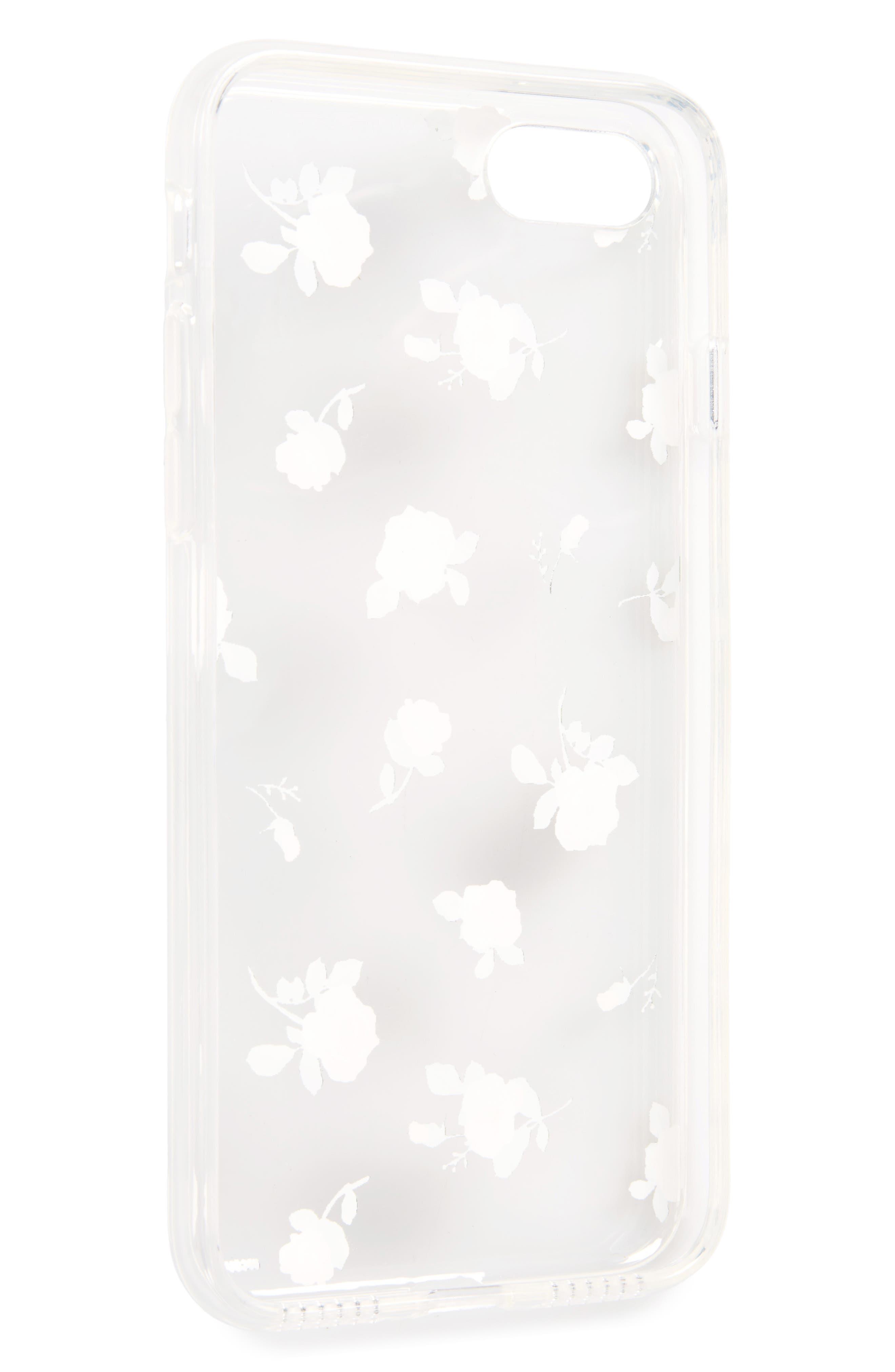 Floral iPhone 7 Case,                             Alternate thumbnail 2, color,                             650