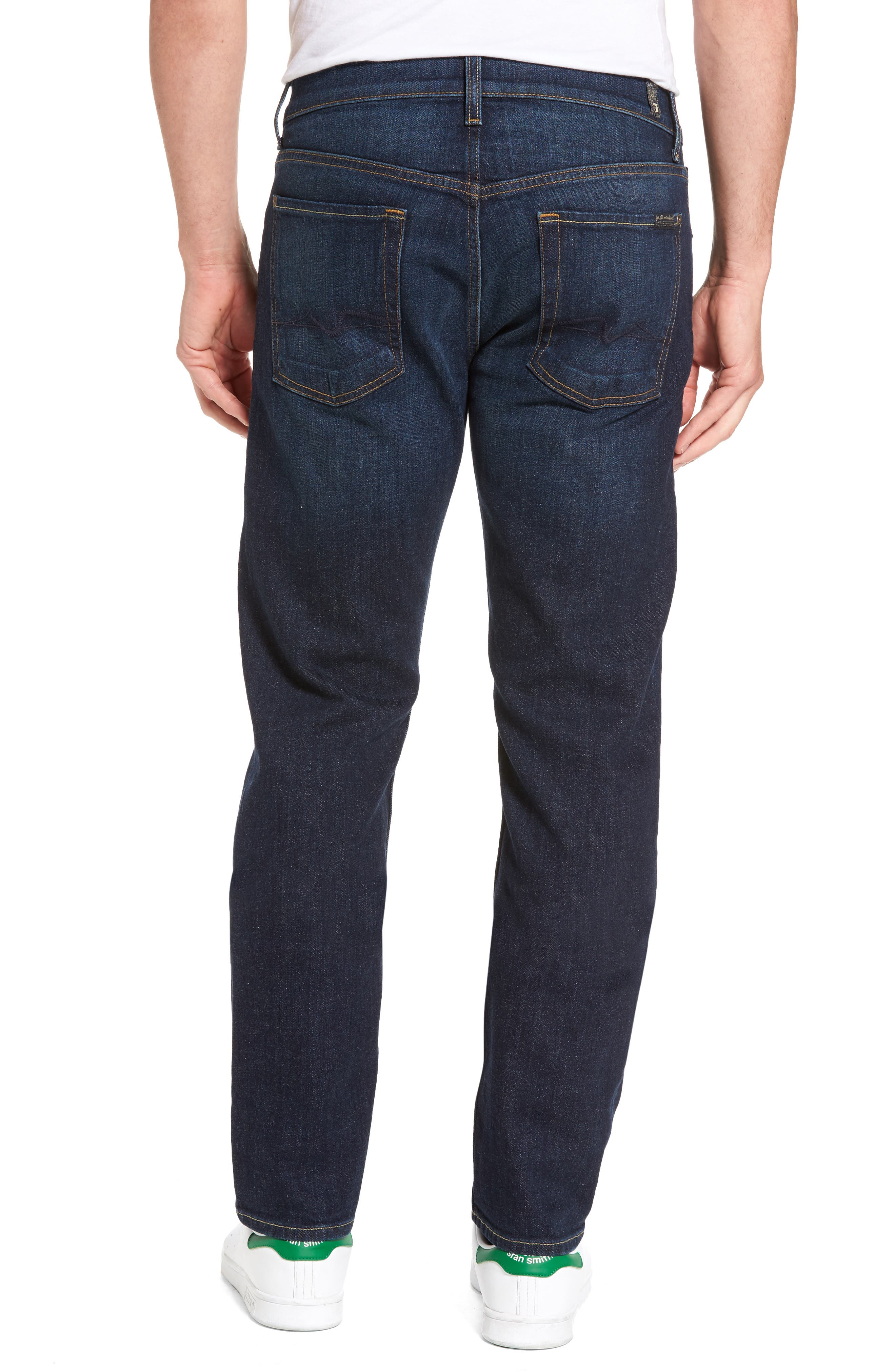 The Standard Straight Fit Jeans,                             Alternate thumbnail 2, color,                             400