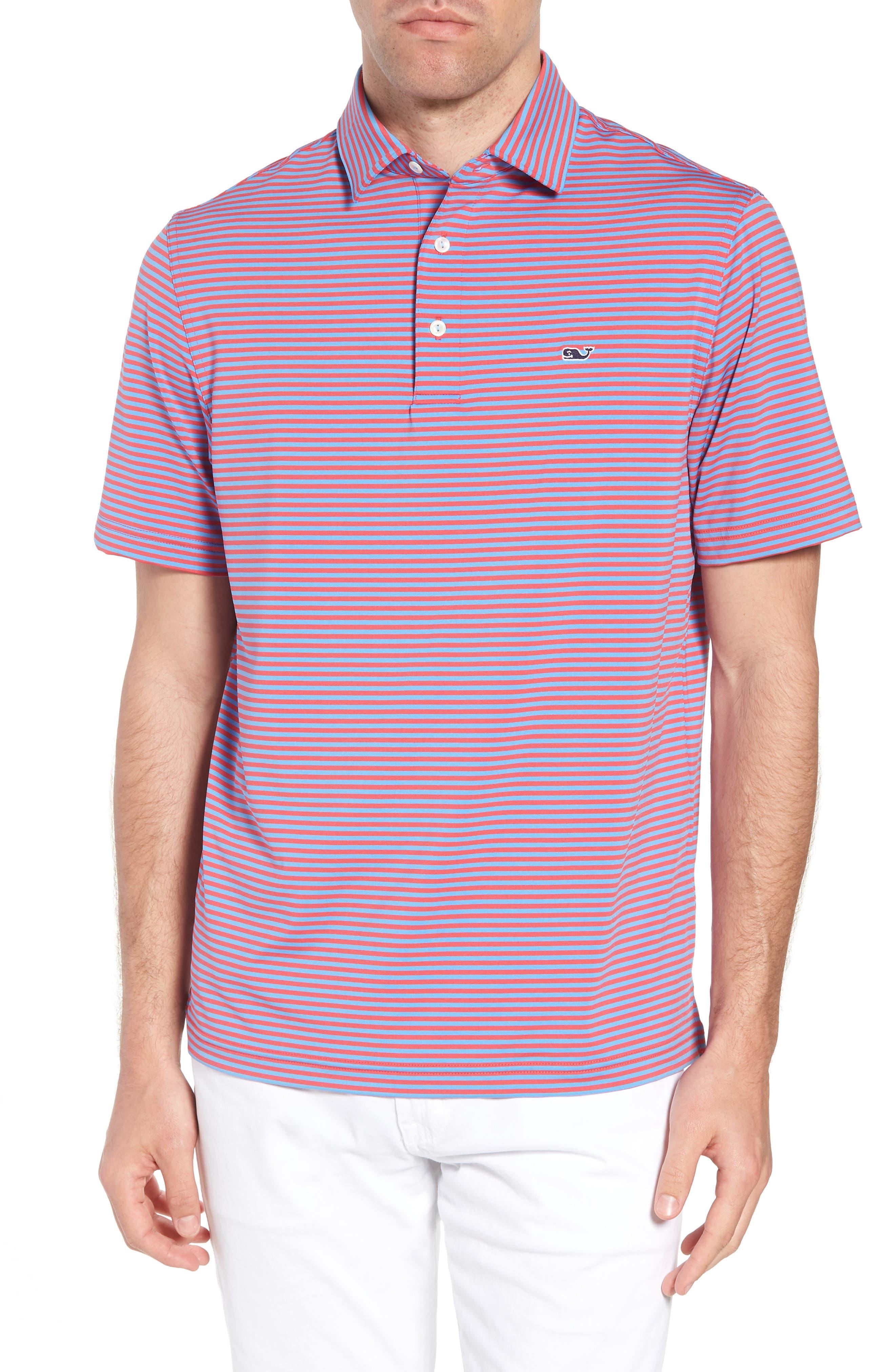 Kennedy Stripe Golf Polo,                             Main thumbnail 6, color,