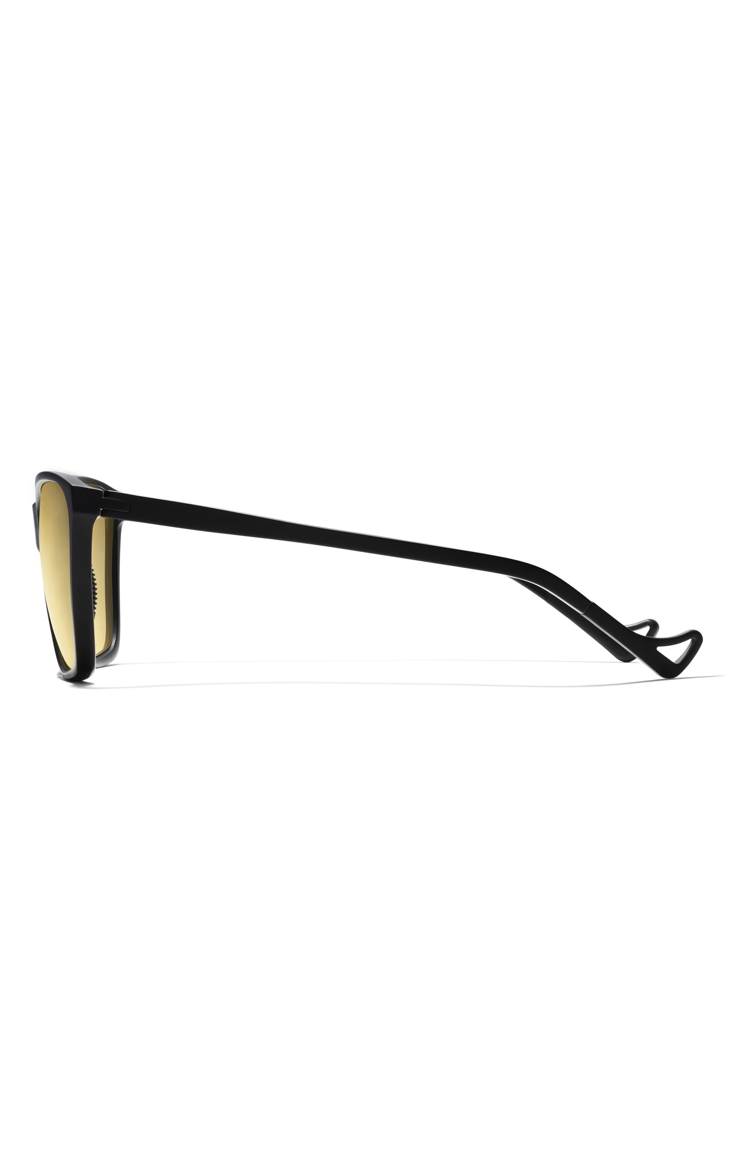 Keiichi Standard 55mm Sunglasses,                             Main thumbnail 1, color,                             BLACK/ YELLOW