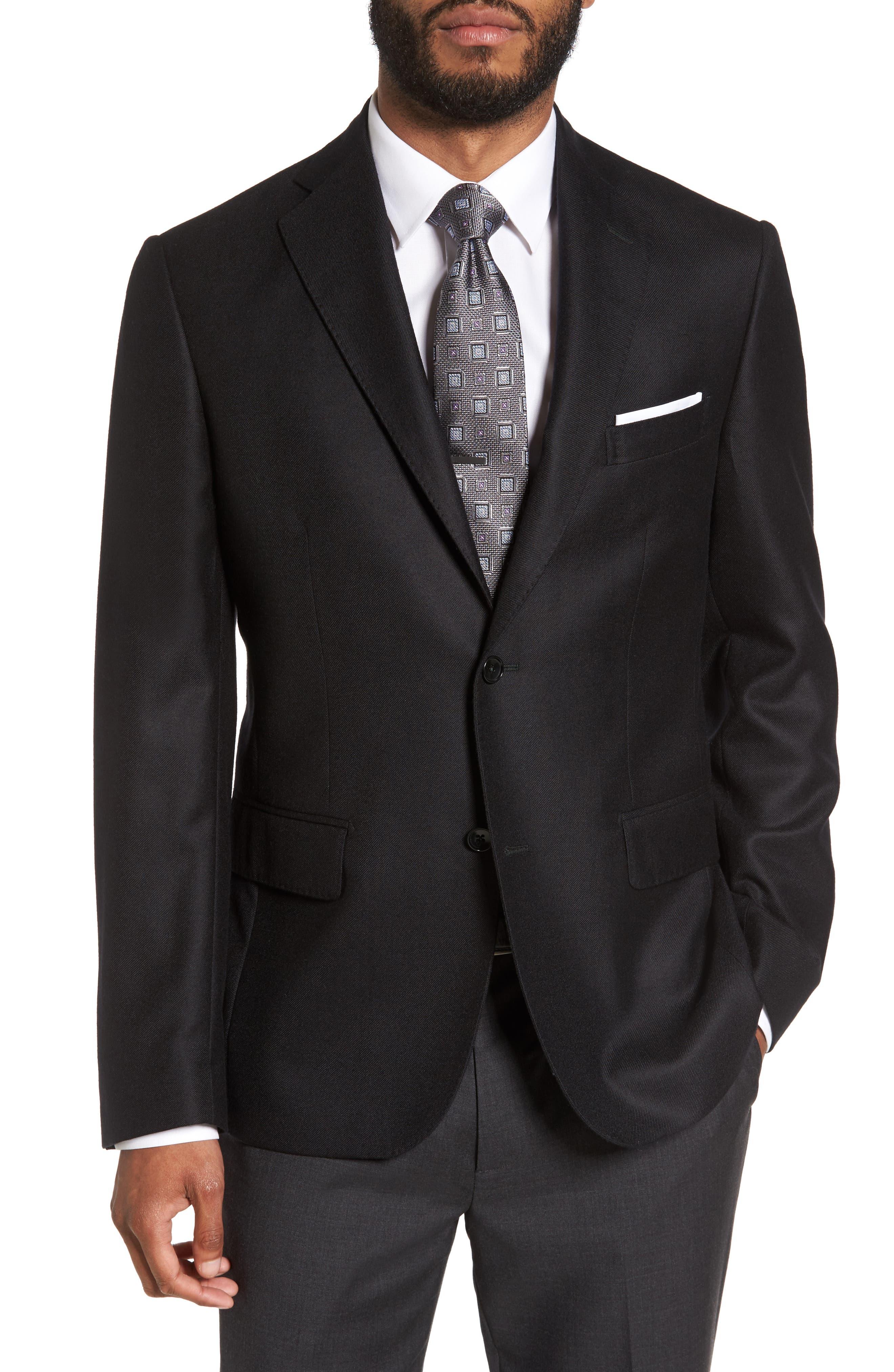 Classic Fit Cashmere Blazer,                         Main,                         color,