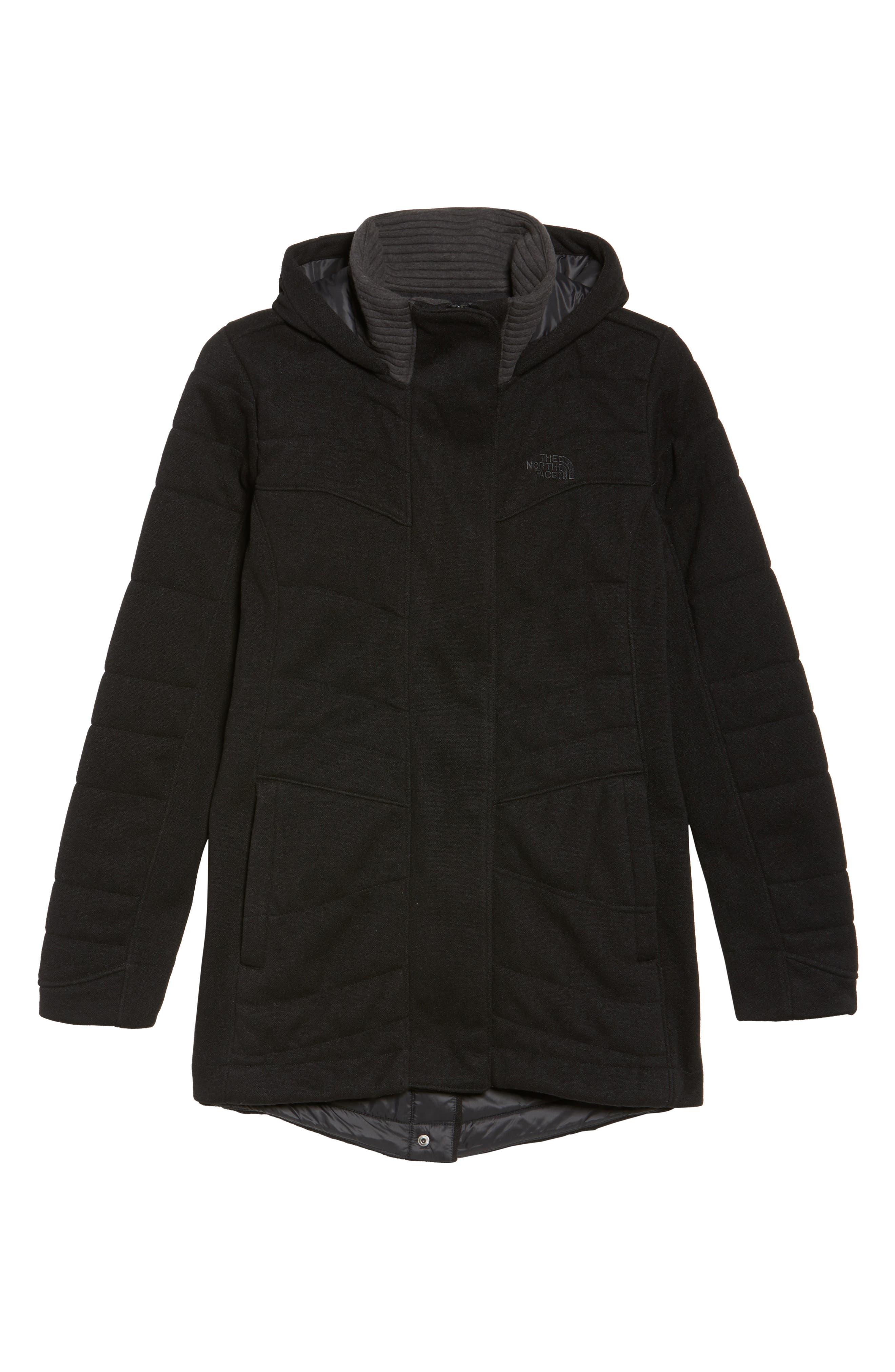 Indi Fleece Jacket,                             Alternate thumbnail 6, color,                             001