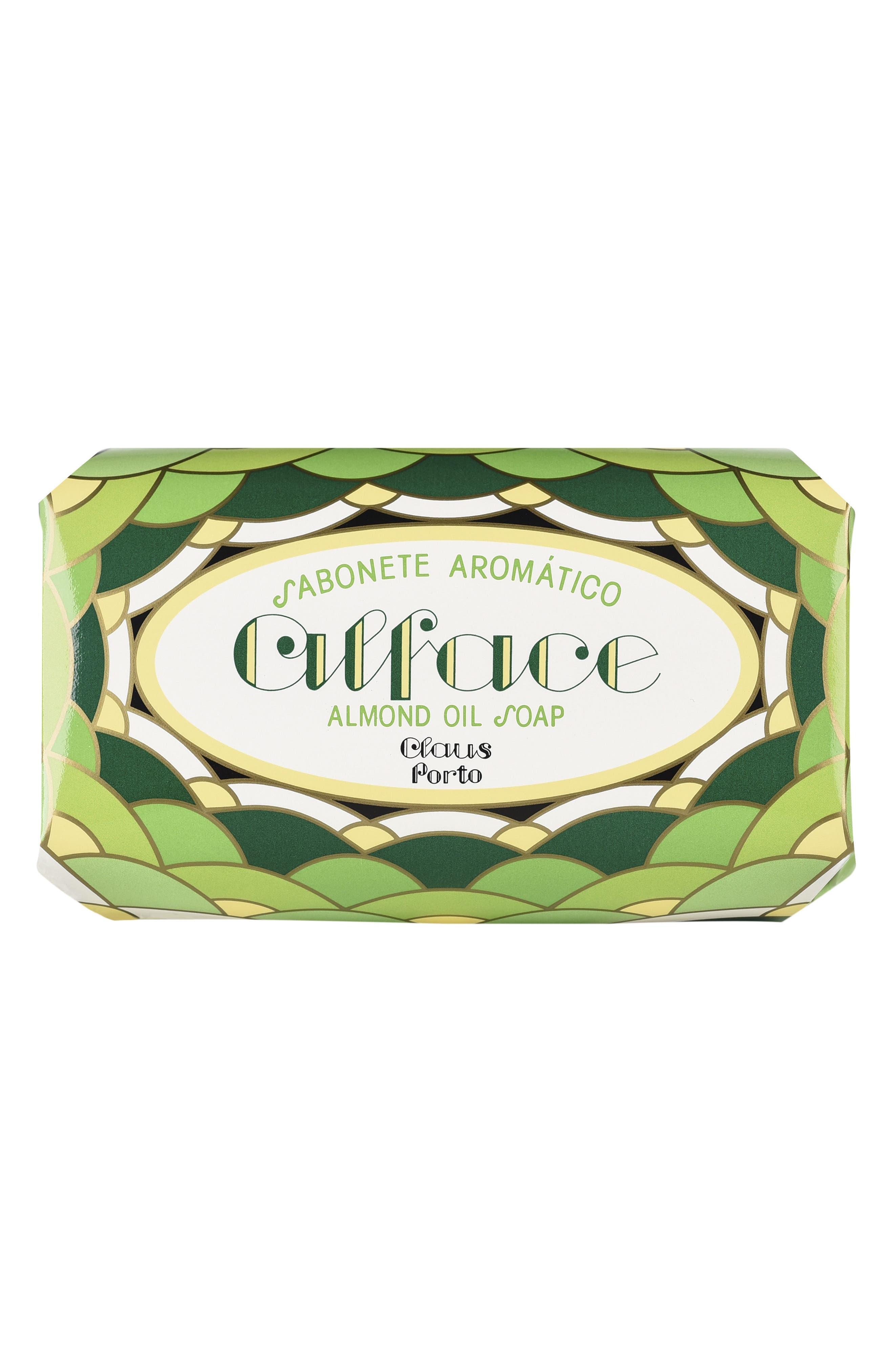 Alface Almond Oil Large Bath Soap,                             Alternate thumbnail 2, color,                             NO COLOR