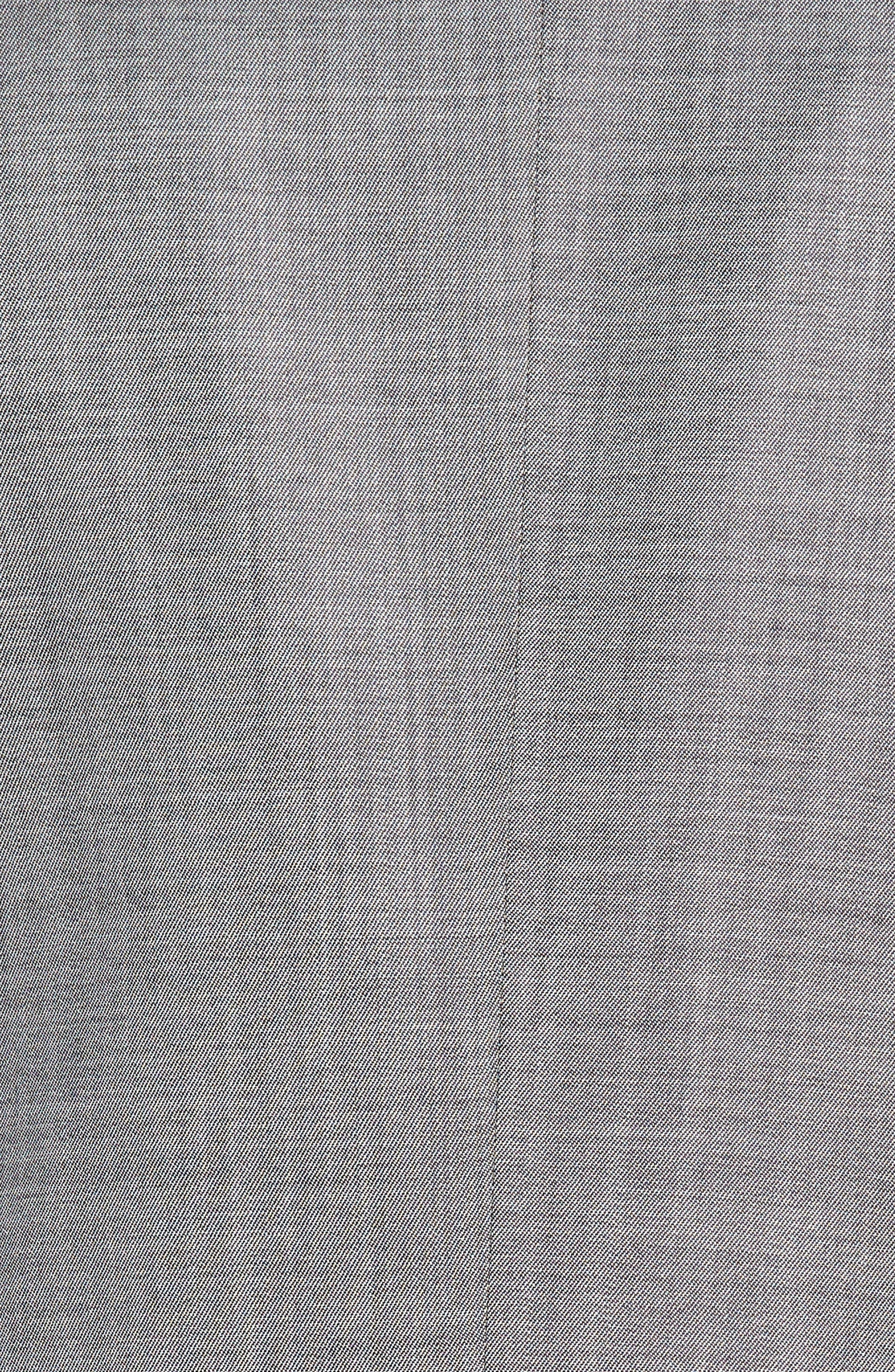 Hutsons/Gander Trim Fit Solid Wool & Silk Suit,                             Alternate thumbnail 7, color,                             020