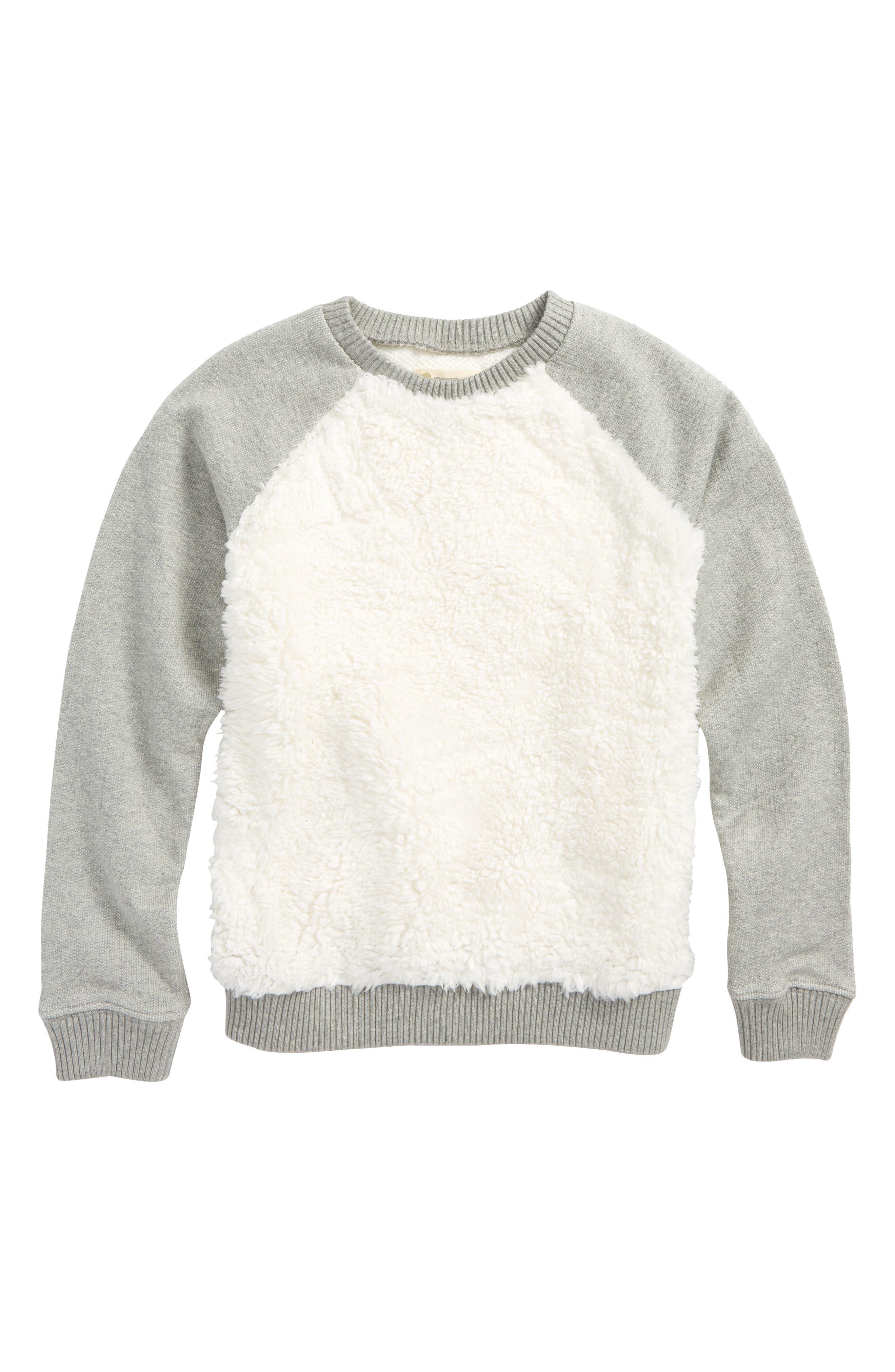 Cozy Crewneck Sweatshirt,                         Main,                         color,