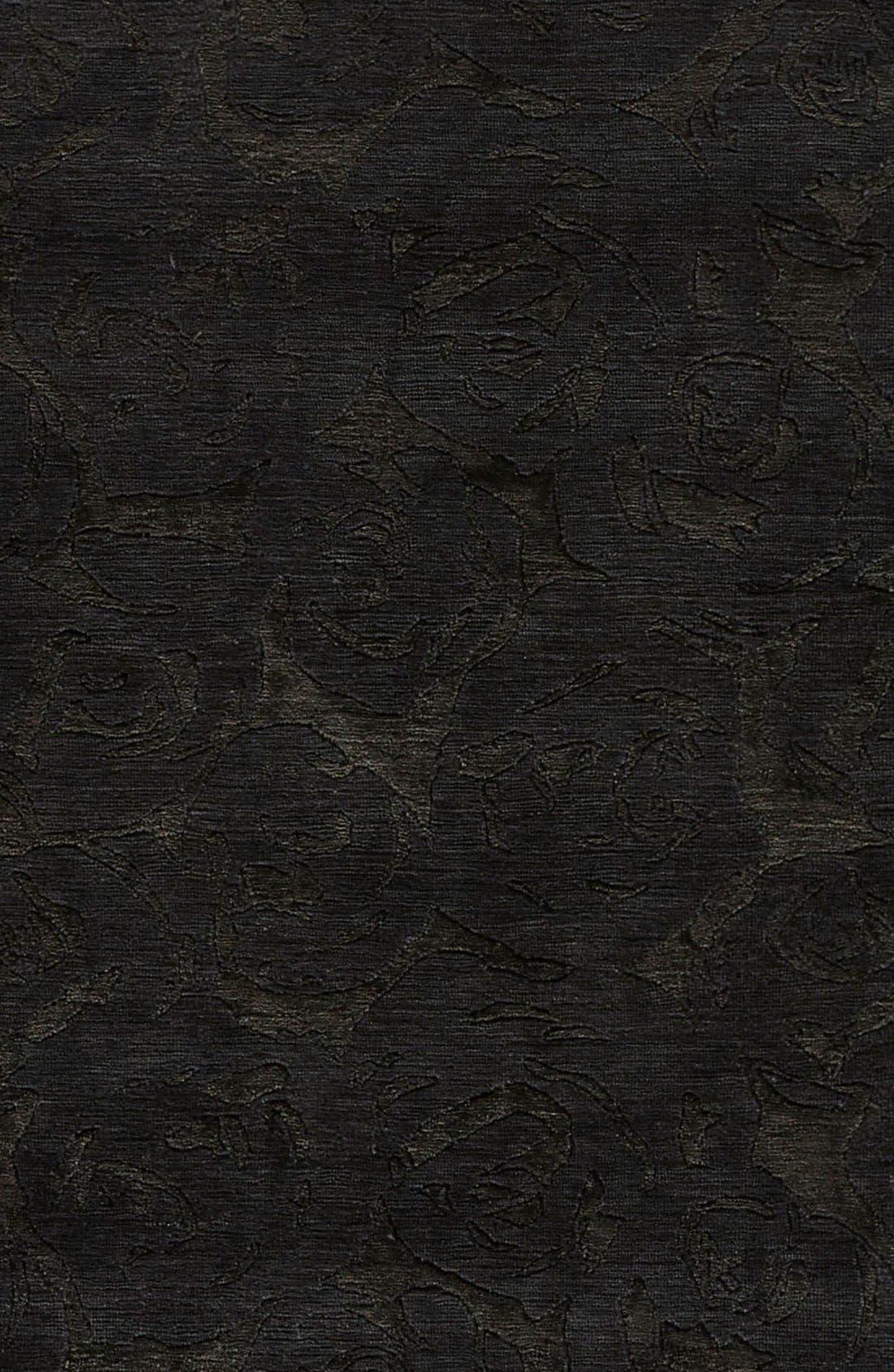 'noho' premium wool blend rug,                             Alternate thumbnail 4, color,                             001