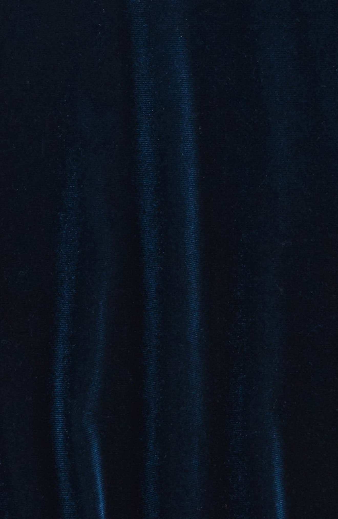 Bardot Junior Velvet Cold Shoulder Top,                             Alternate thumbnail 2, color,                             440