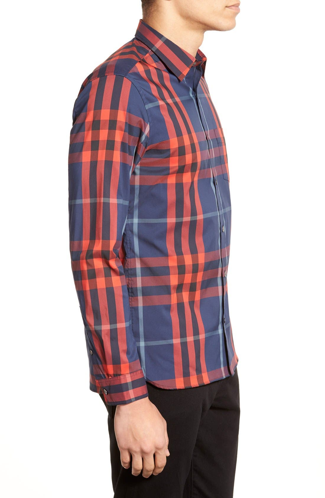 Nelson Check Sport Shirt,                             Alternate thumbnail 63, color,