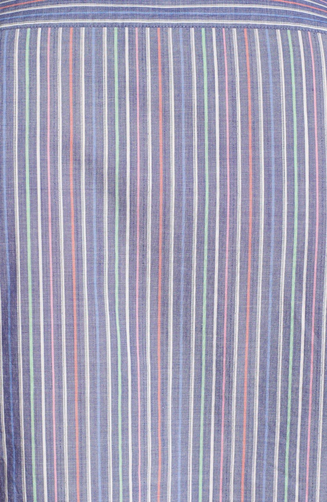 BOSS,                             HUGO BOSS 'Lucas' Regular Fit Sport Shirt,                             Alternate thumbnail 3, color,                             460