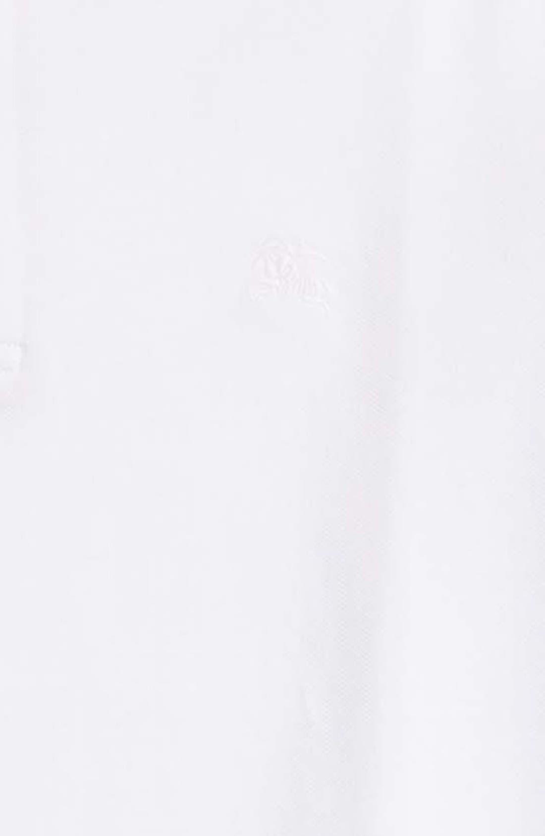 Piqué Polo,                             Alternate thumbnail 7, color,                             WHITE