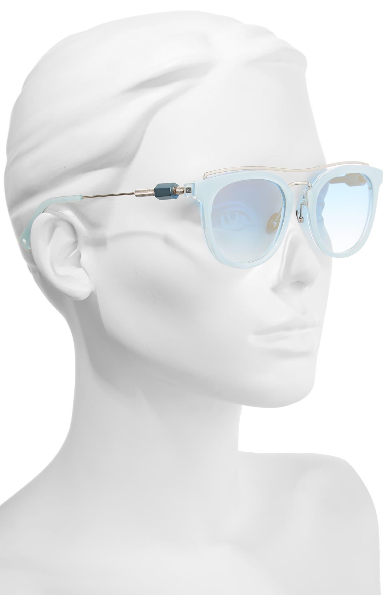 Zeal 52mm Aviator Sunglasses,                             Alternate thumbnail 9, color,