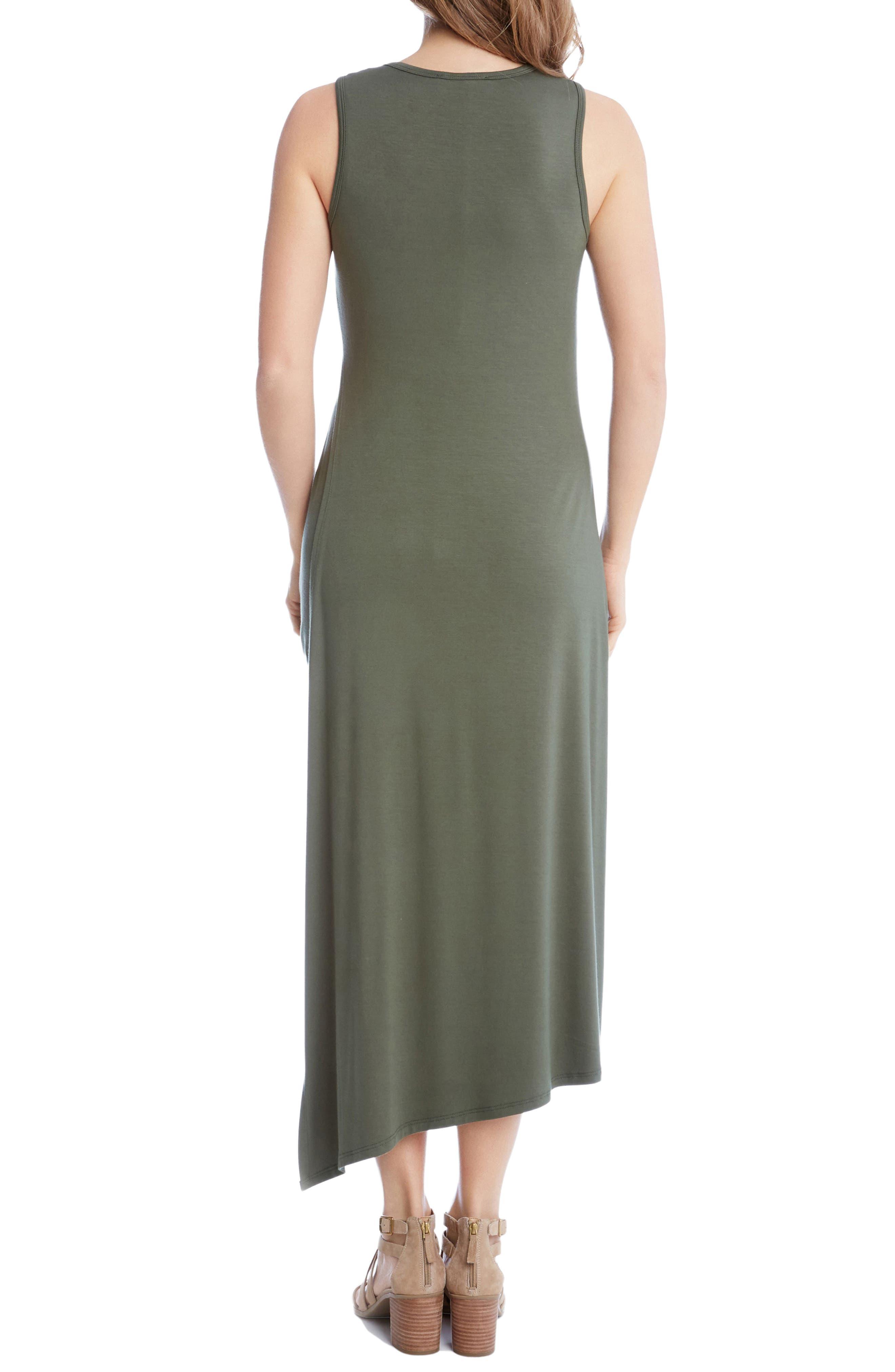 Stevie Asymmetrical Hem Tank Dress,                             Alternate thumbnail 2, color,