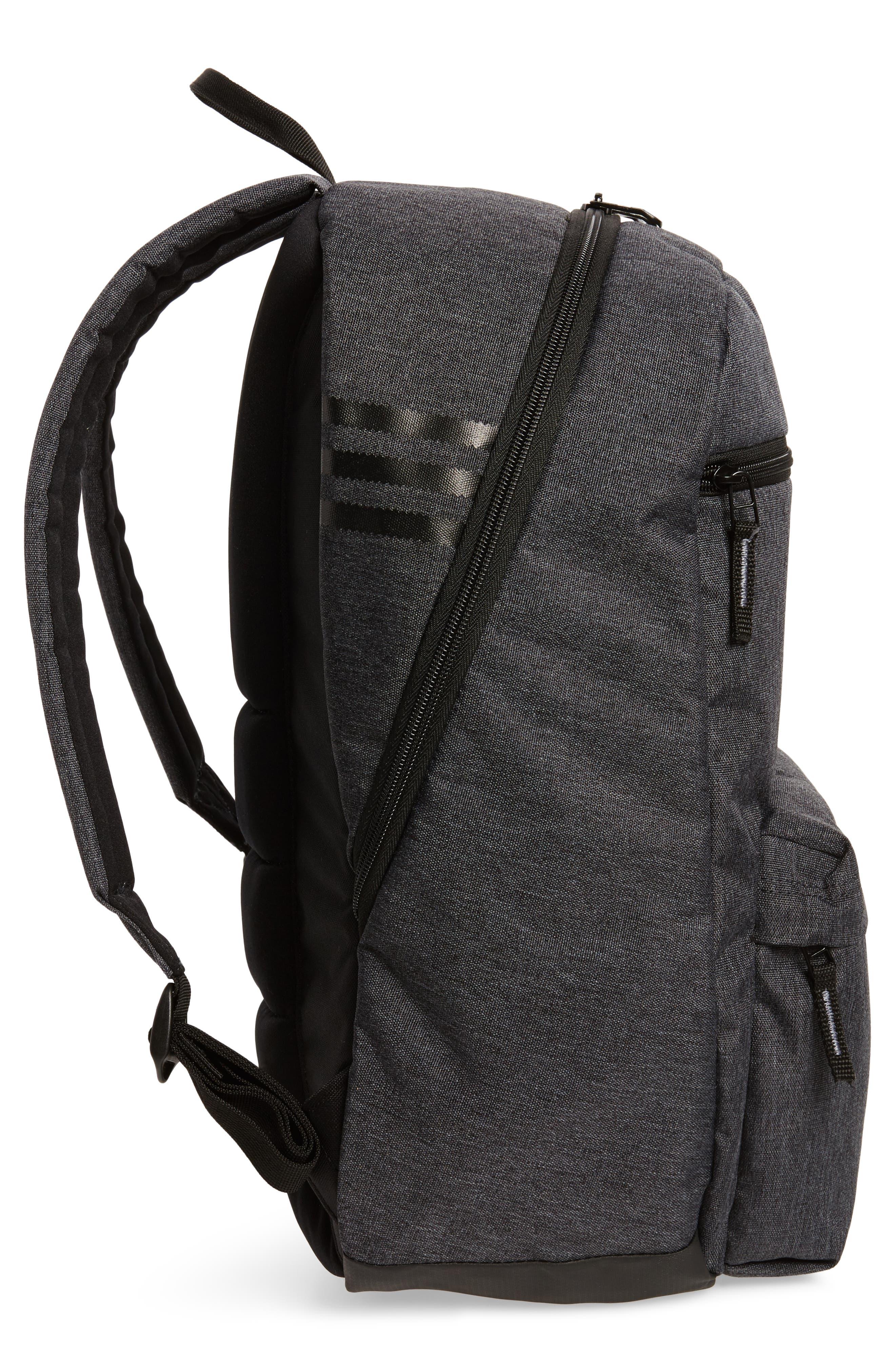 National Plus Backpack,                             Alternate thumbnail 5, color,                             BLACK/ GREY HEATHER/ WHITE