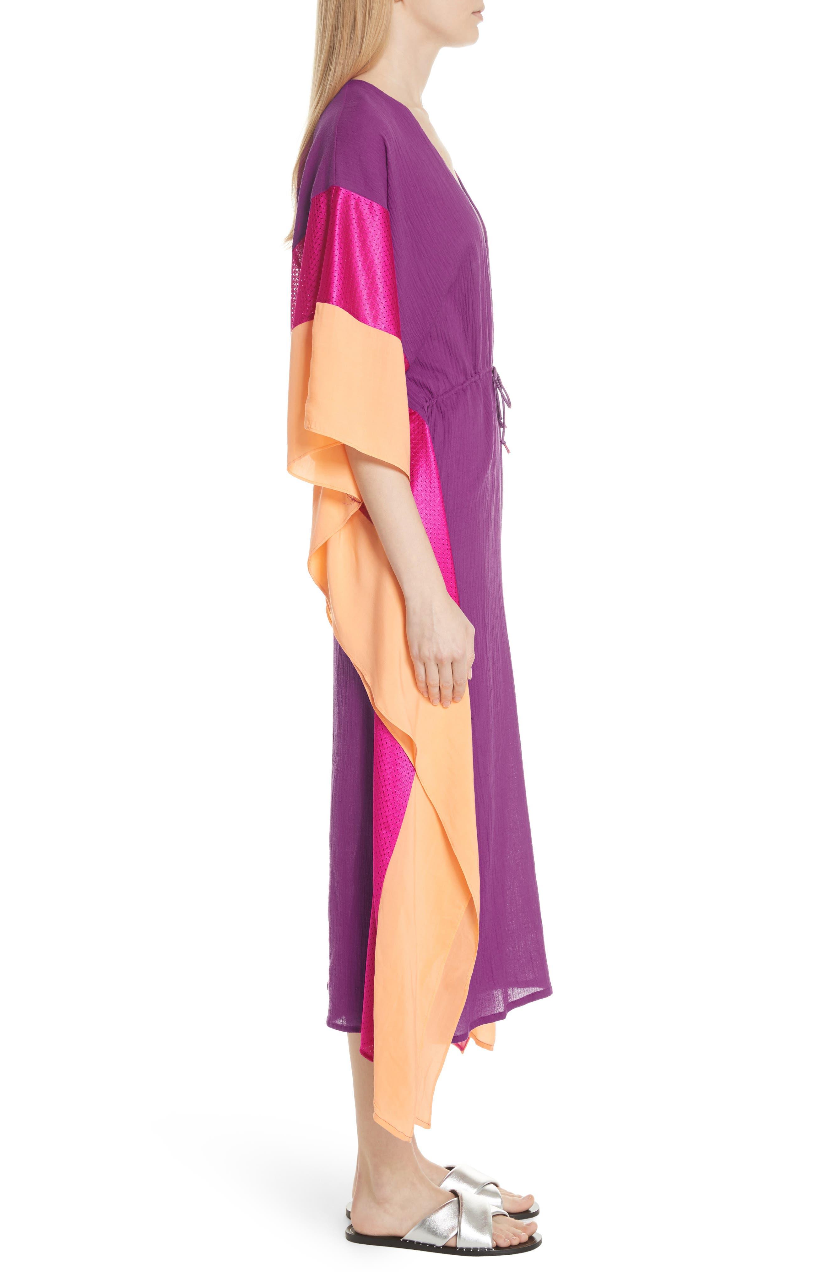 Sun Dance Caftan Dress,                             Alternate thumbnail 3, color,                             650