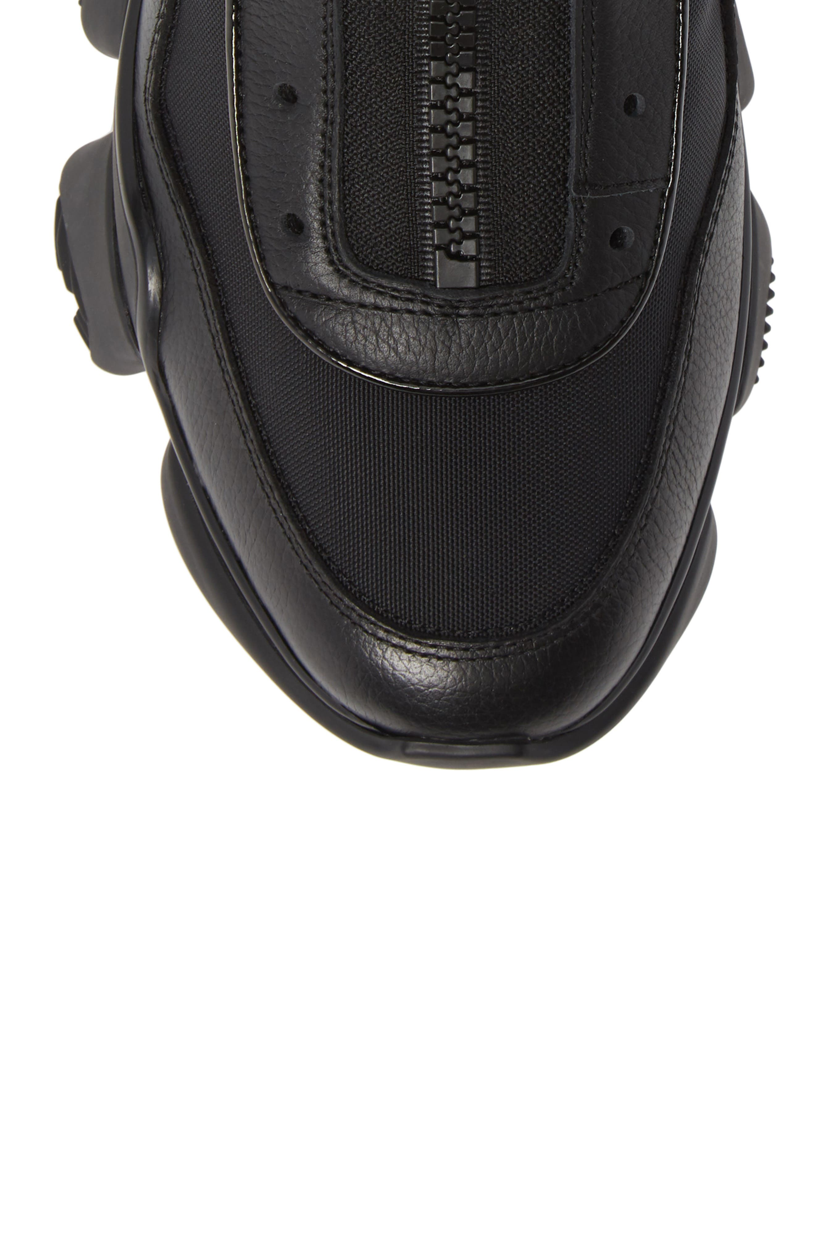 Jaw Sneaker,                             Alternate thumbnail 5, color,                             BLACK