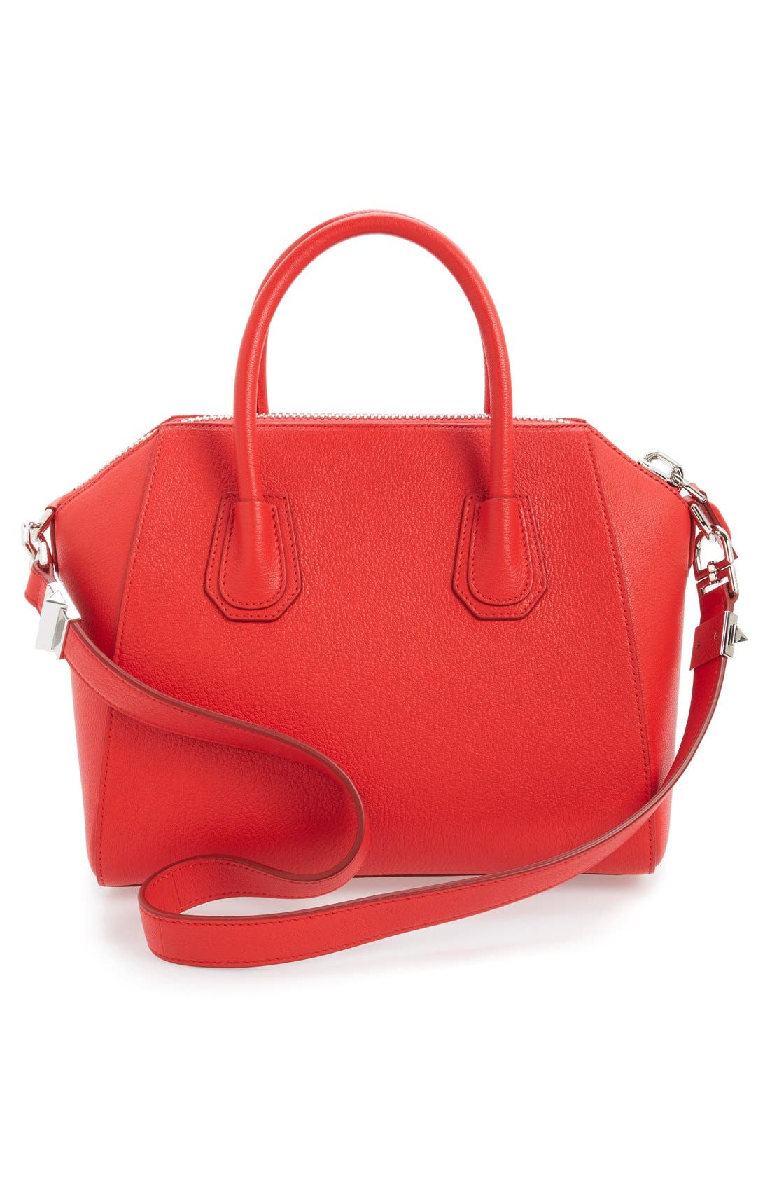 'Small Antigona' Sugar Leather Satchel,                             Alternate thumbnail 14, color,