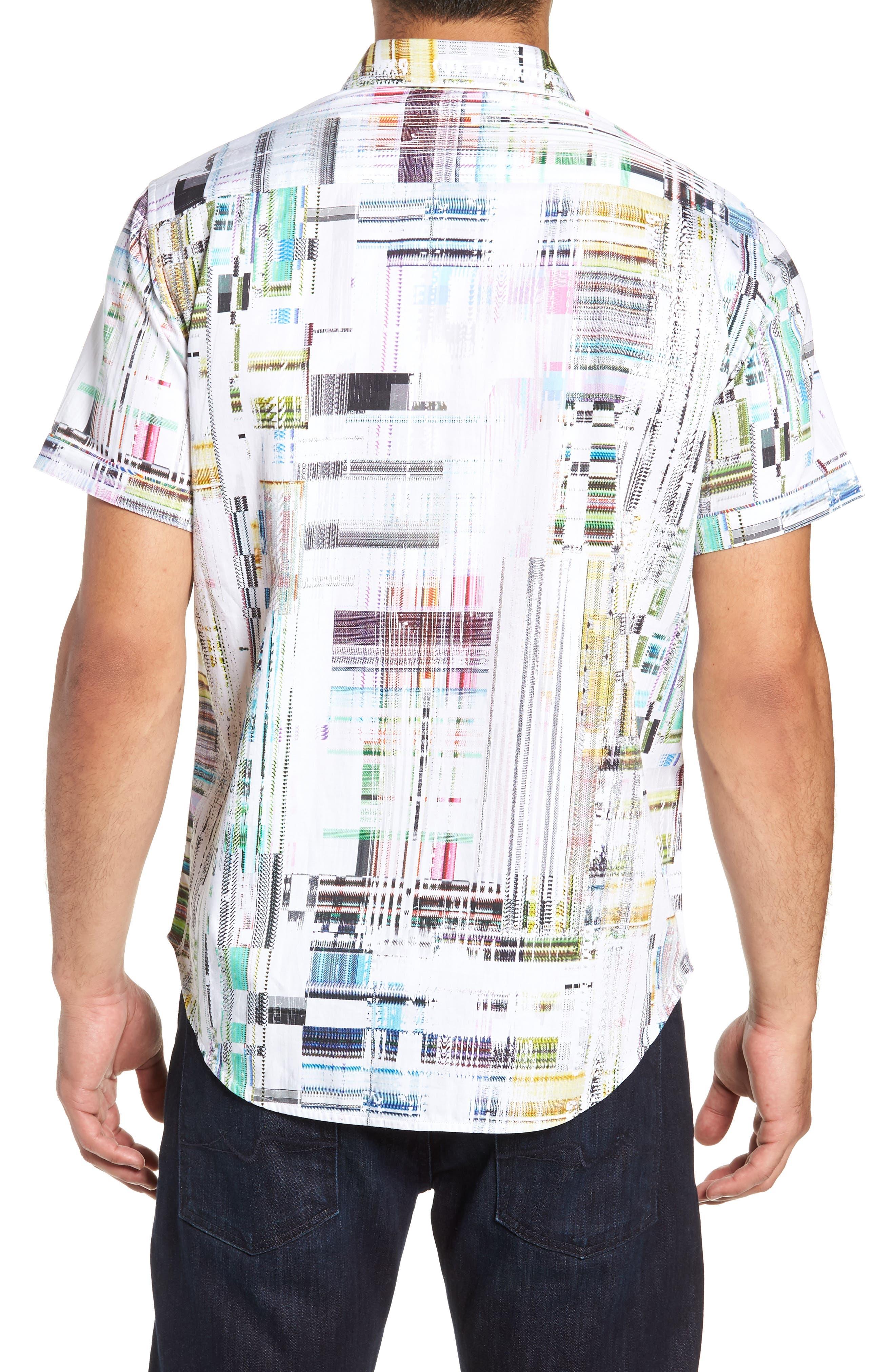Paracels Classic Fit Sport Shirt,                             Alternate thumbnail 3, color,                             MULTI