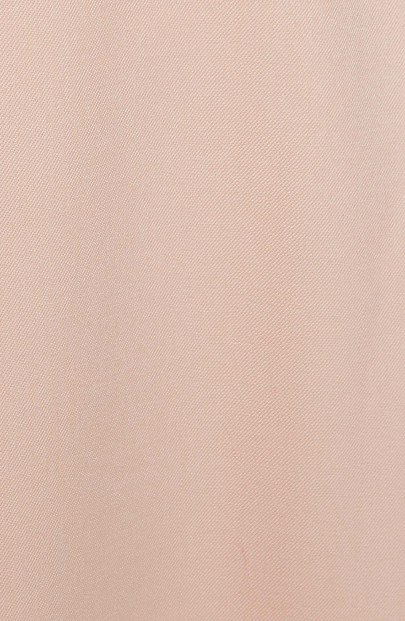 Stretch Wool Gabardine Culottes,                             Alternate thumbnail 5, color,                             690