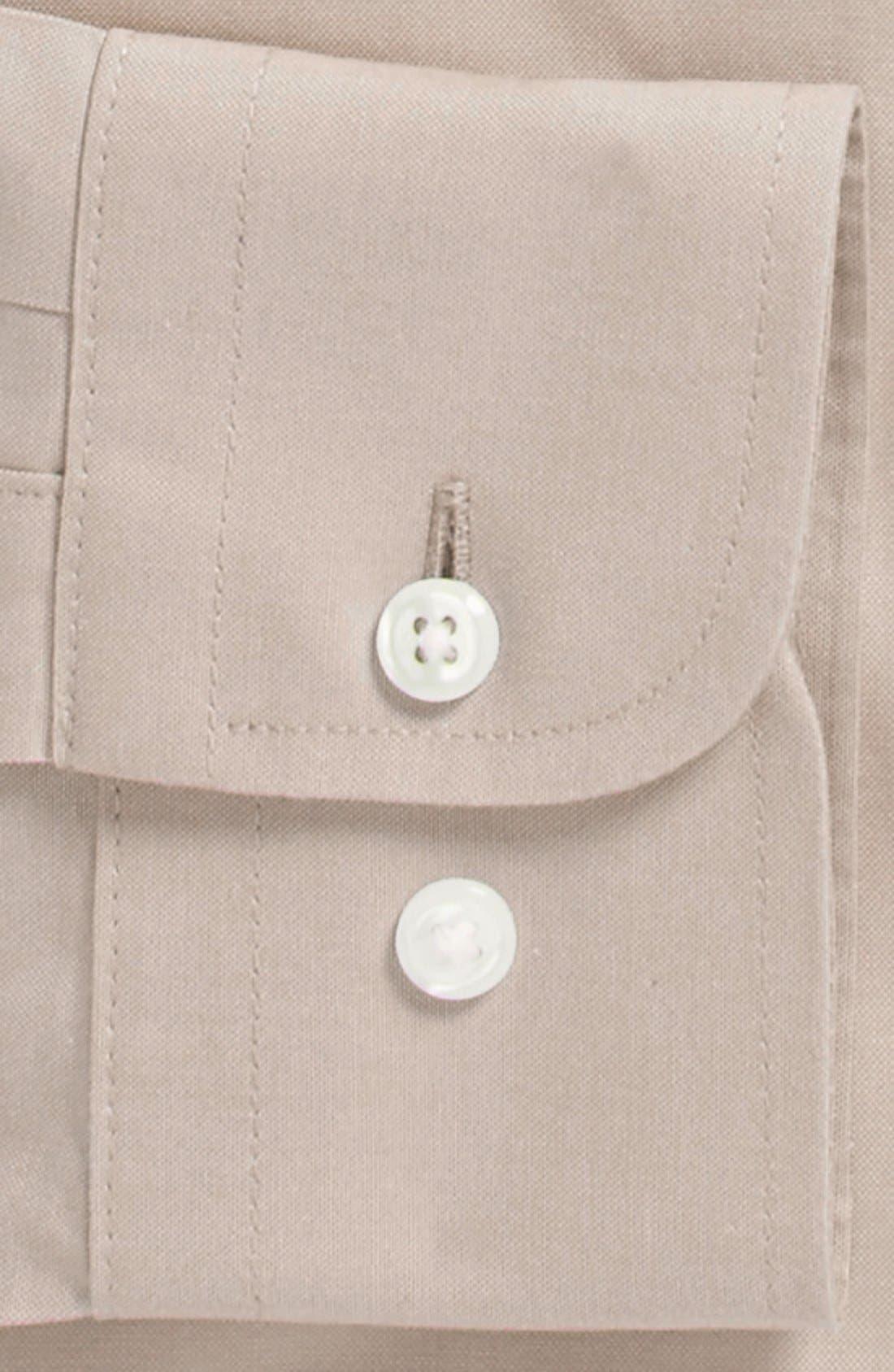Smartcare<sup>™</sup> Trim Fit Solid Dress Shirt,                             Alternate thumbnail 27, color,