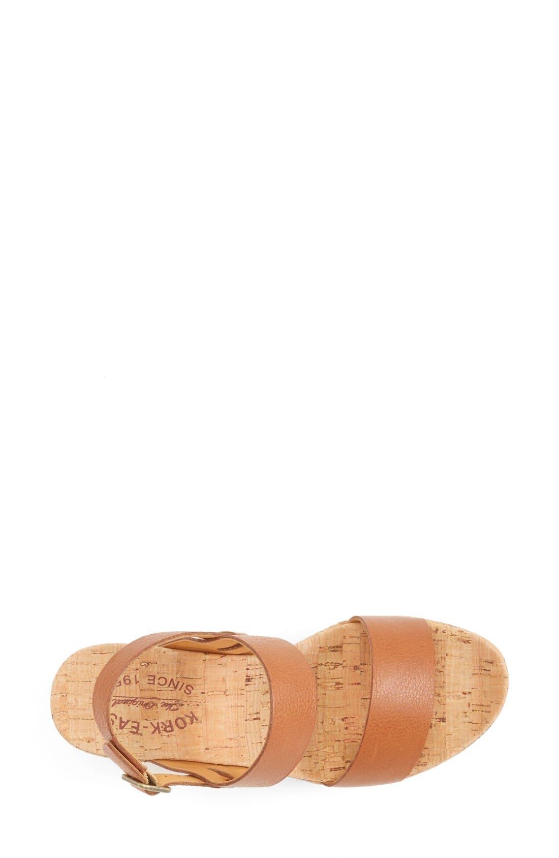 'Austin' Slingback Wedge Sandal,                             Alternate thumbnail 28, color,