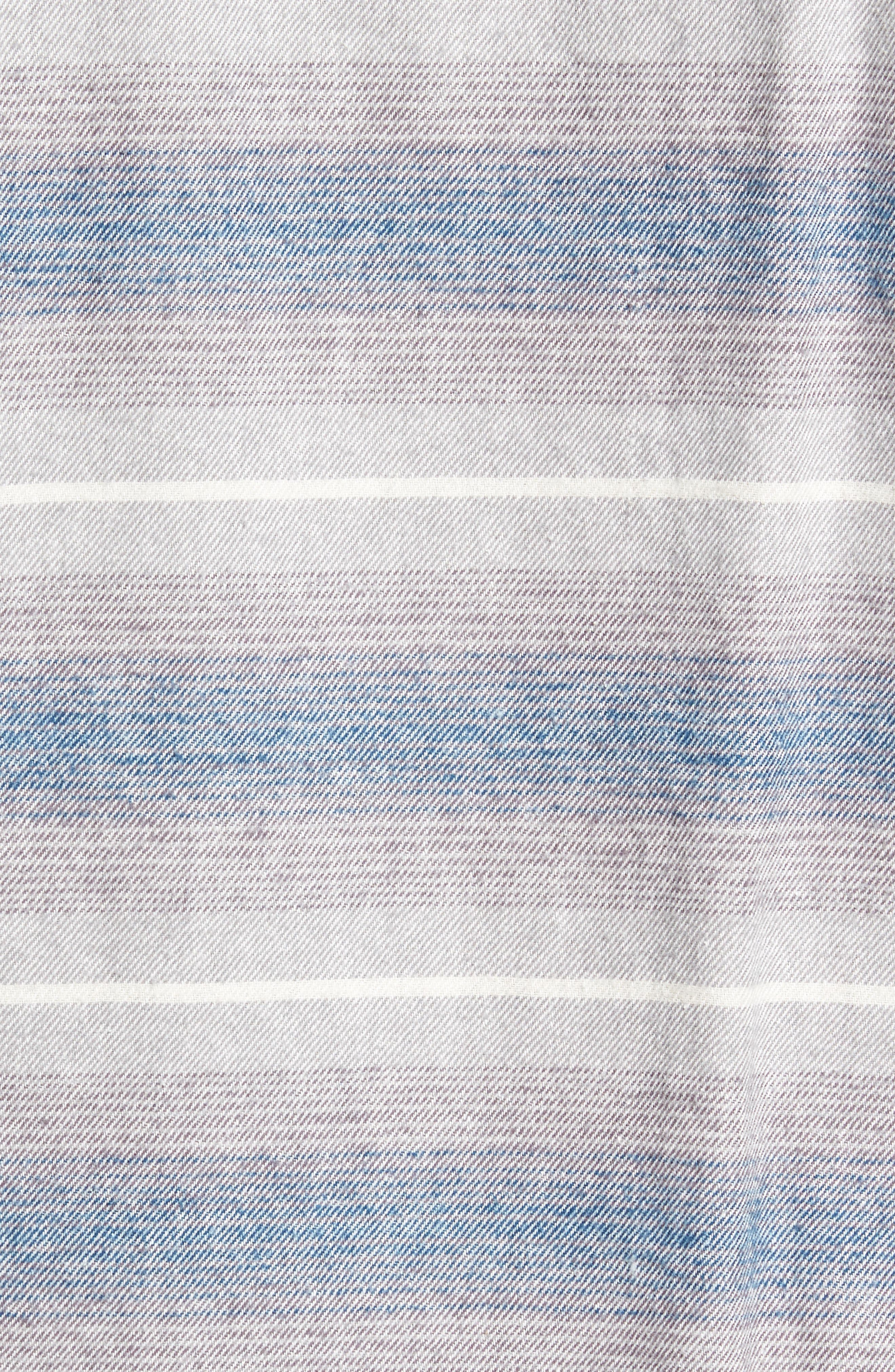 GRAMICCI,                             General Purpose Regular Fit Stripe Sport Shirt,                             Alternate thumbnail 5, color,                             400