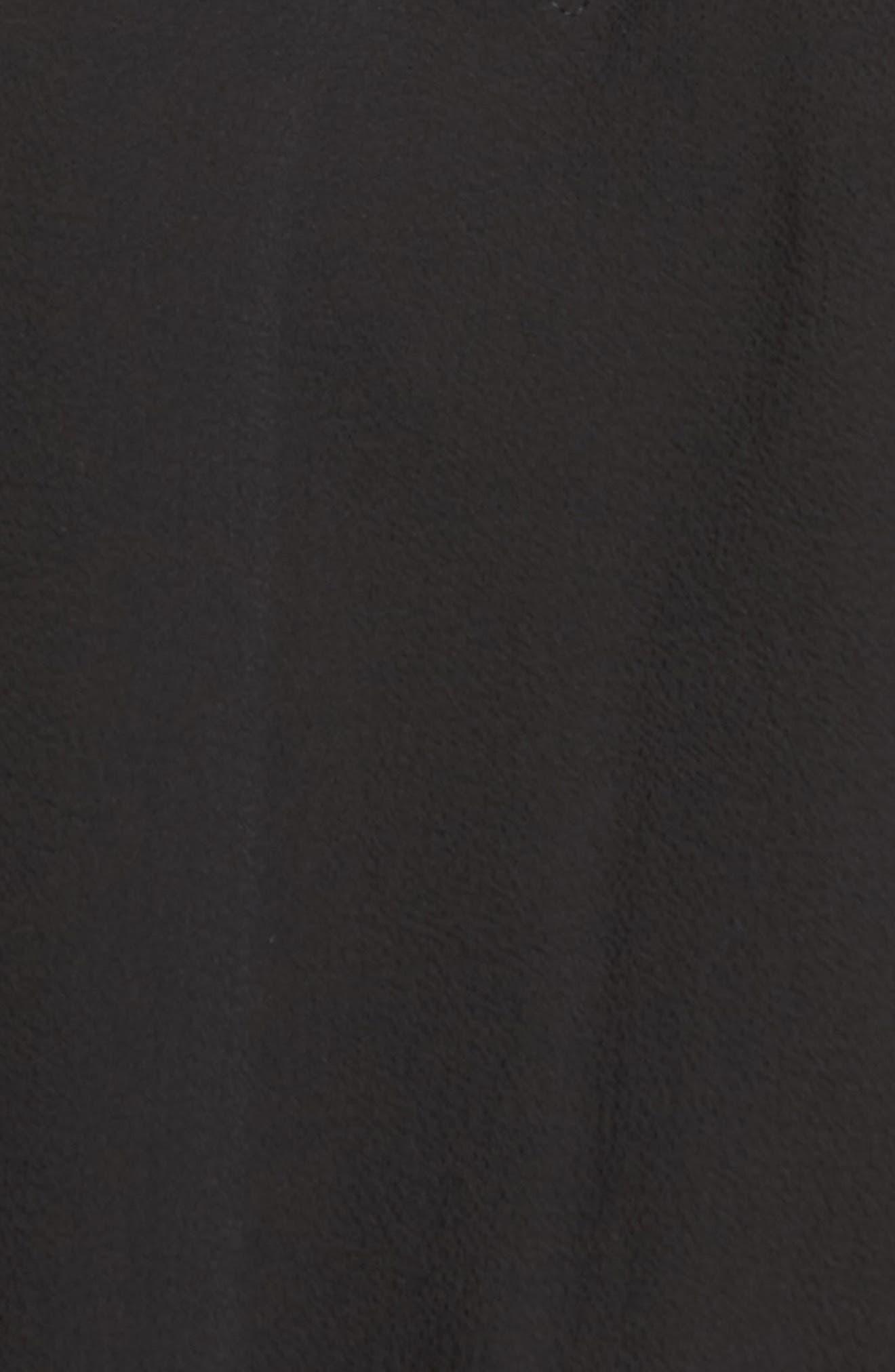Medena Smock Waist Ruffle Minidress,                             Alternate thumbnail 5, color,                             001