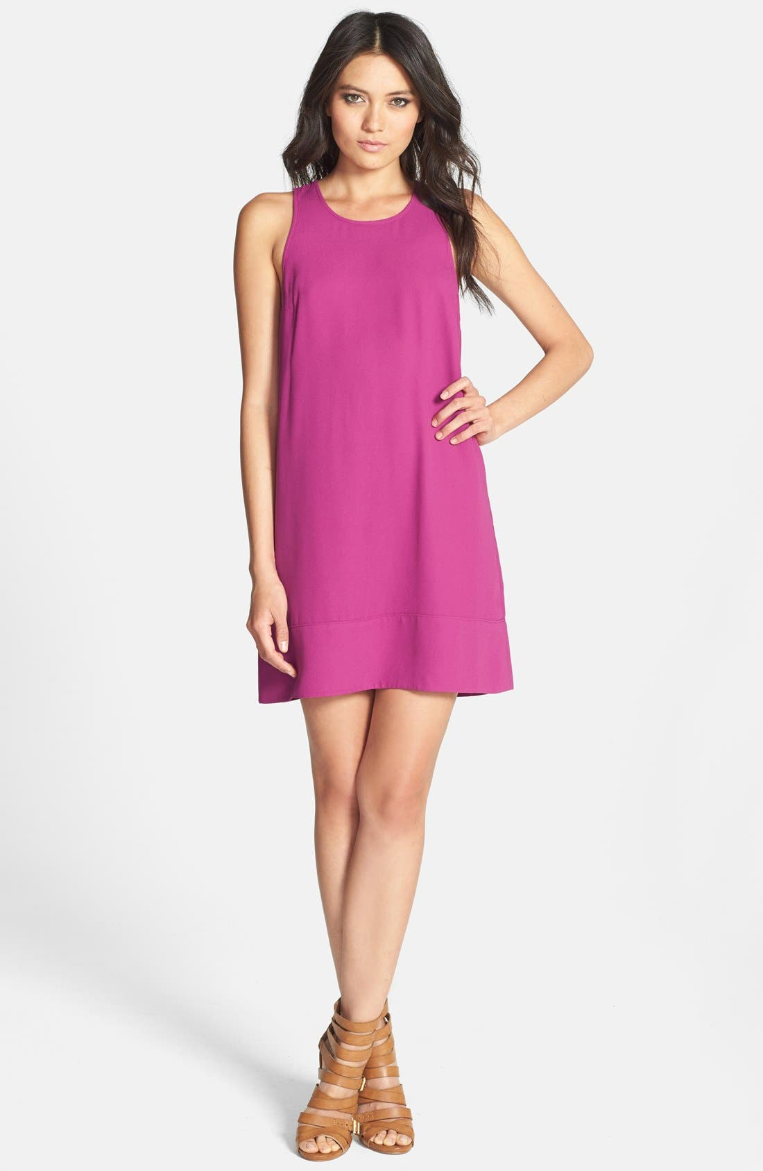 Racerback Shift Dress,                             Main thumbnail 37, color,