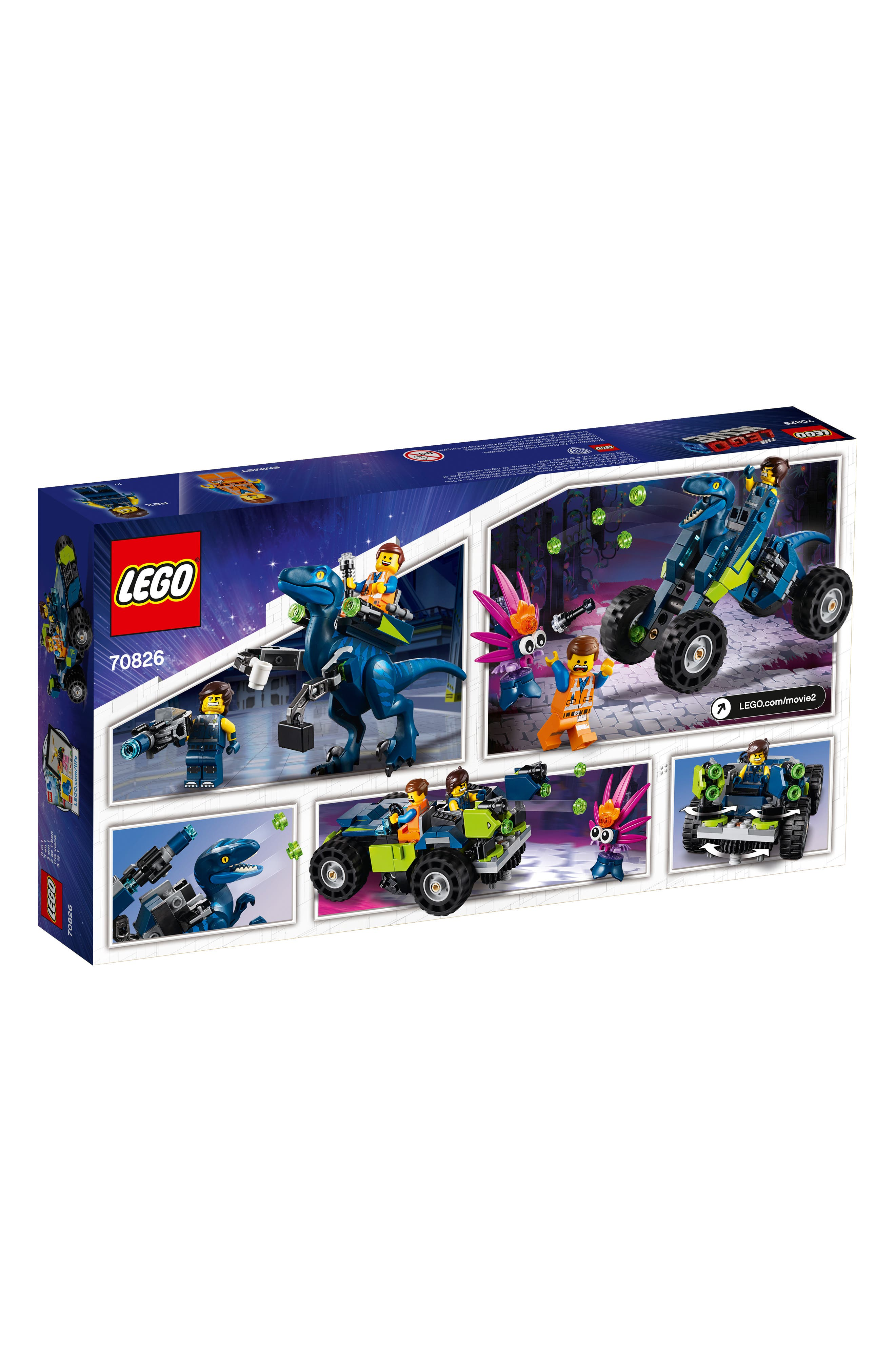 LEGO<SUP>®</SUP>,                             The LEGO<sup>®</sup> Movie 2 Rex's 3-in-1 Rex-treme Offroader Toy - 70826,                             Alternate thumbnail 3, color,                             960