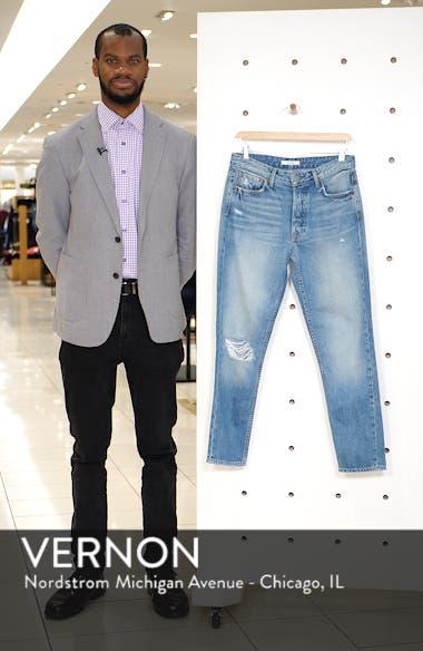 Kiara High Waist Ankle Boyfriend Jeans, sales video thumbnail