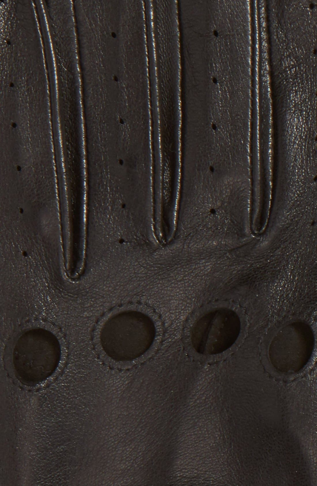 Leather Driving Gloves,                             Alternate thumbnail 2, color,                             001