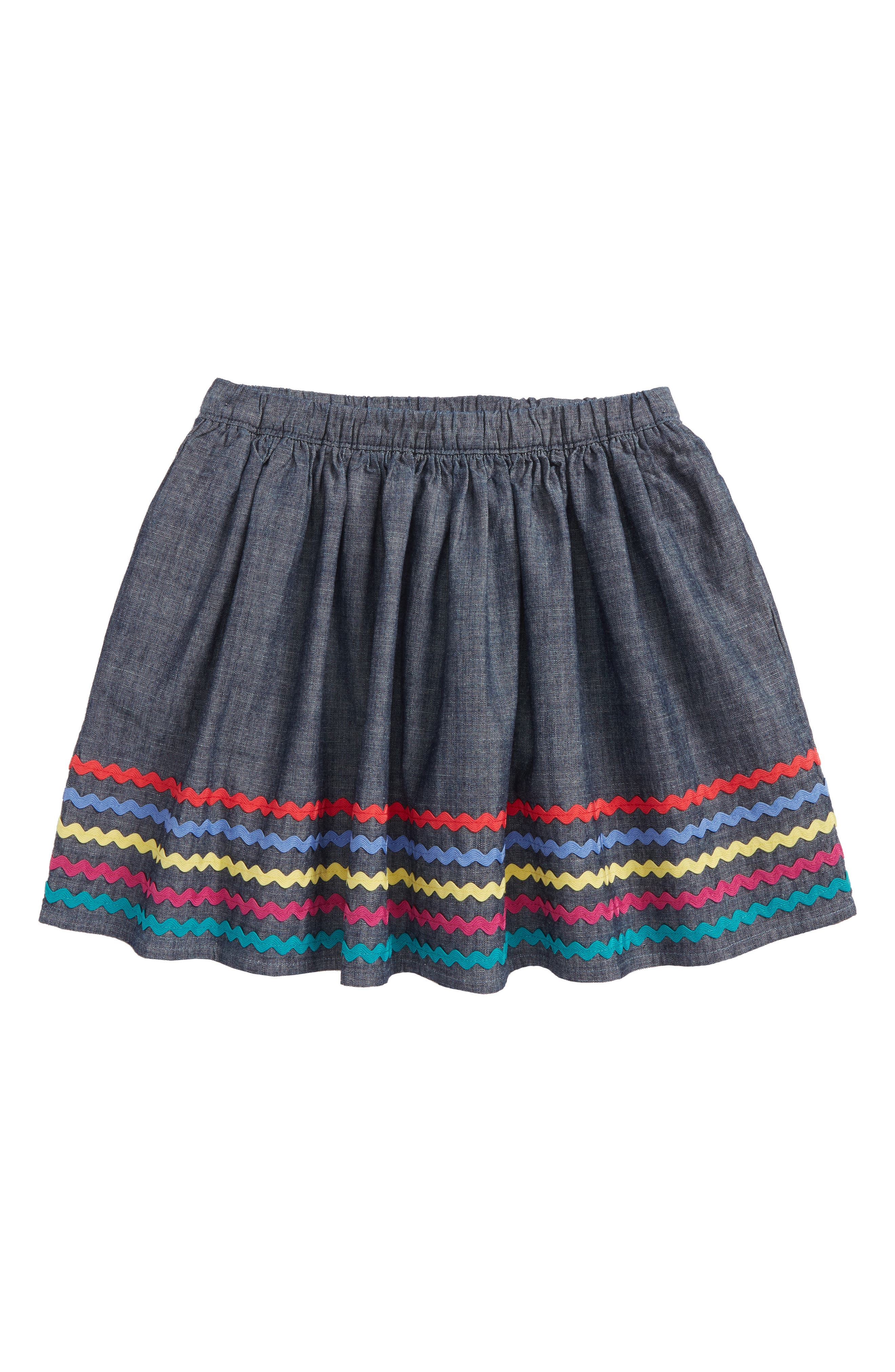 Rickrack Twirl Skirt,                         Main,                         color, 410