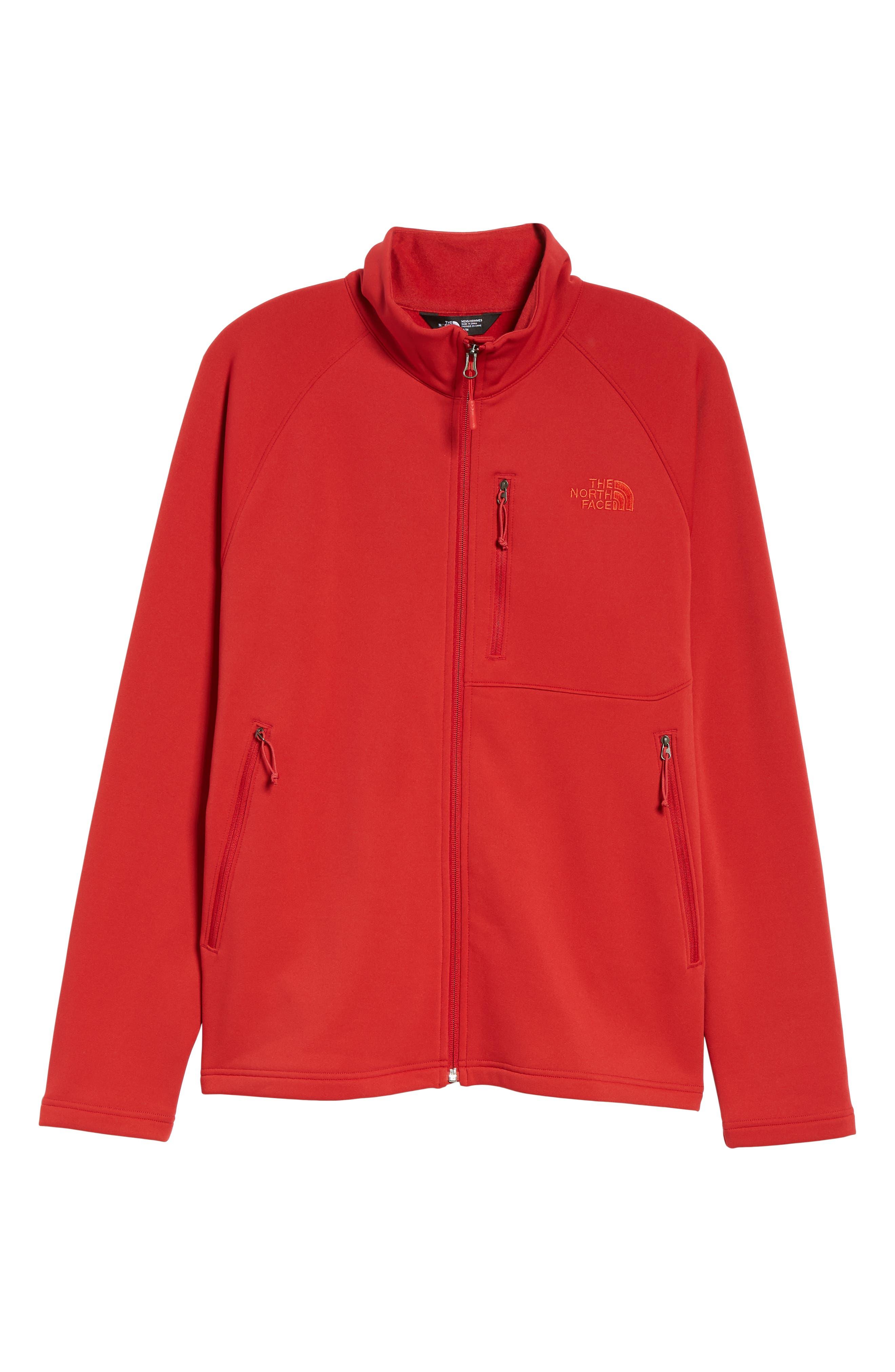 Tenacious Zip Jacket,                             Alternate thumbnail 5, color,                             RAGE RED