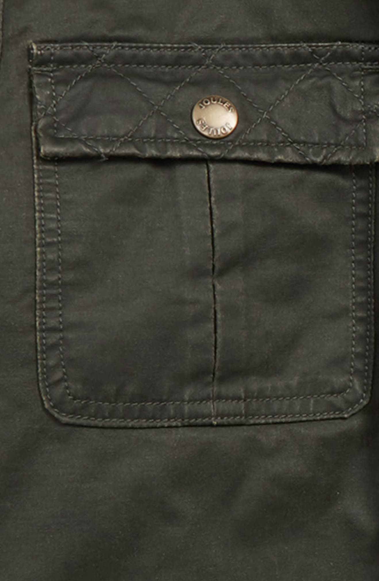 Barnham Faux Wax Jacket,                             Alternate thumbnail 2, color,                             EVERGLADE