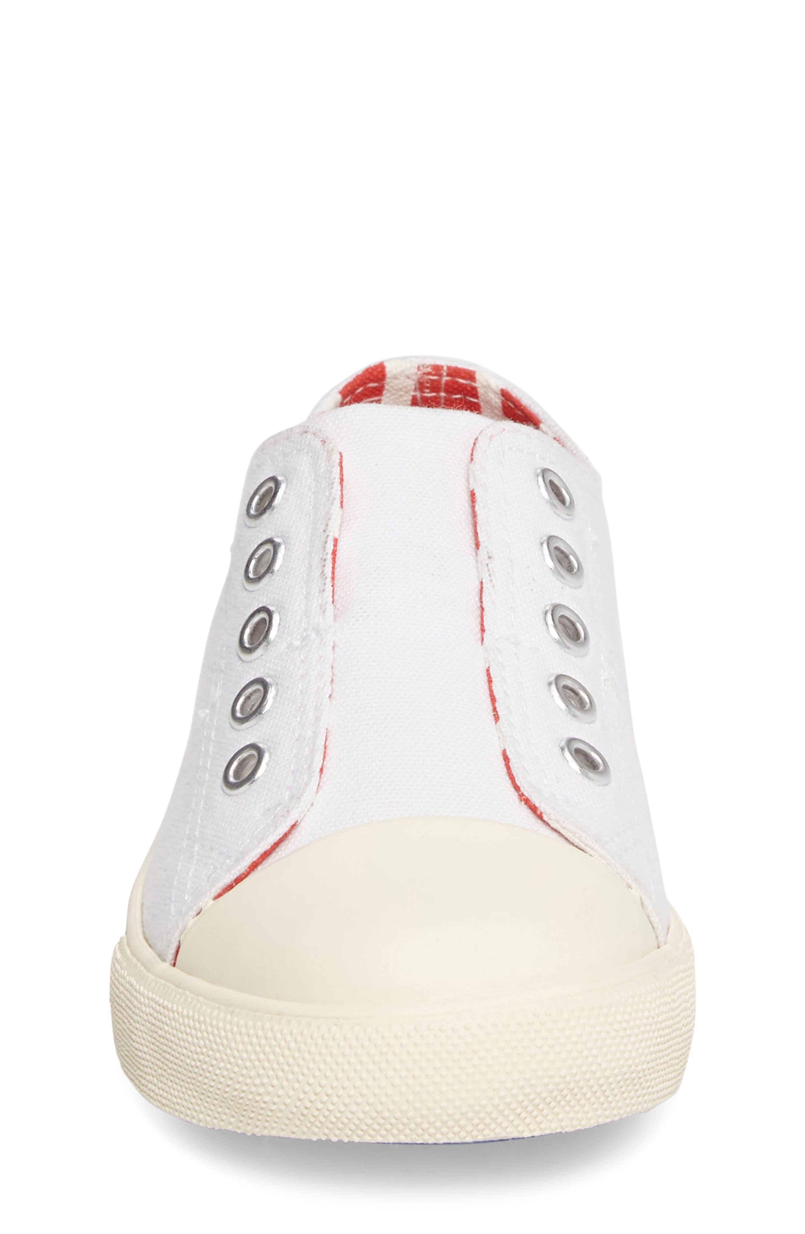Laceless Sneaker,                             Alternate thumbnail 4, color,                             100