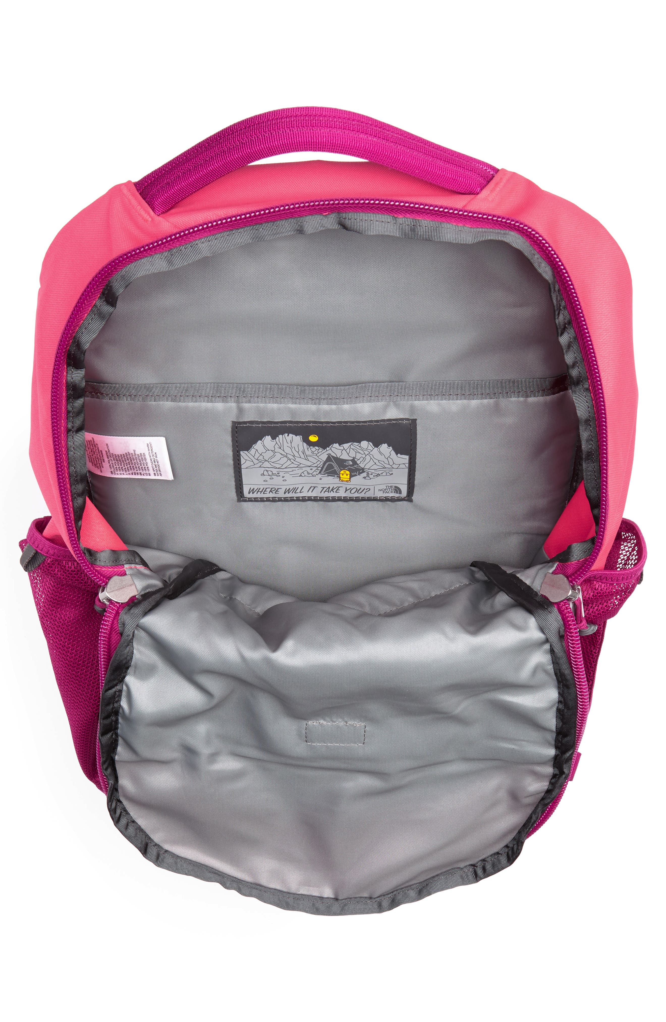 Vault Backpack,                             Alternate thumbnail 3, color,                             ATOMIC PINK/ DRAMATIC PLUM