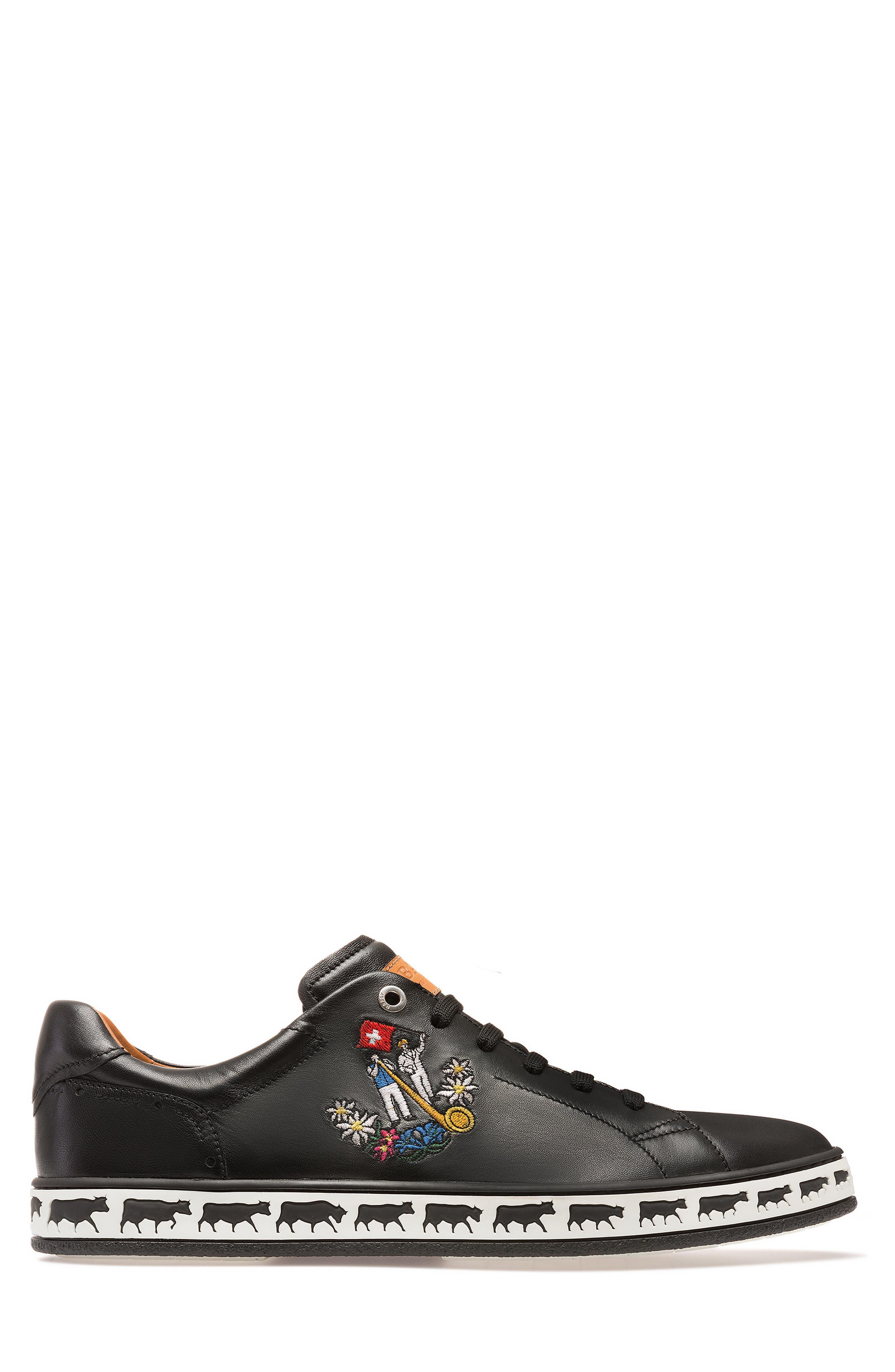 Anistern Sneaker,                             Alternate thumbnail 3, color,                             BLACK